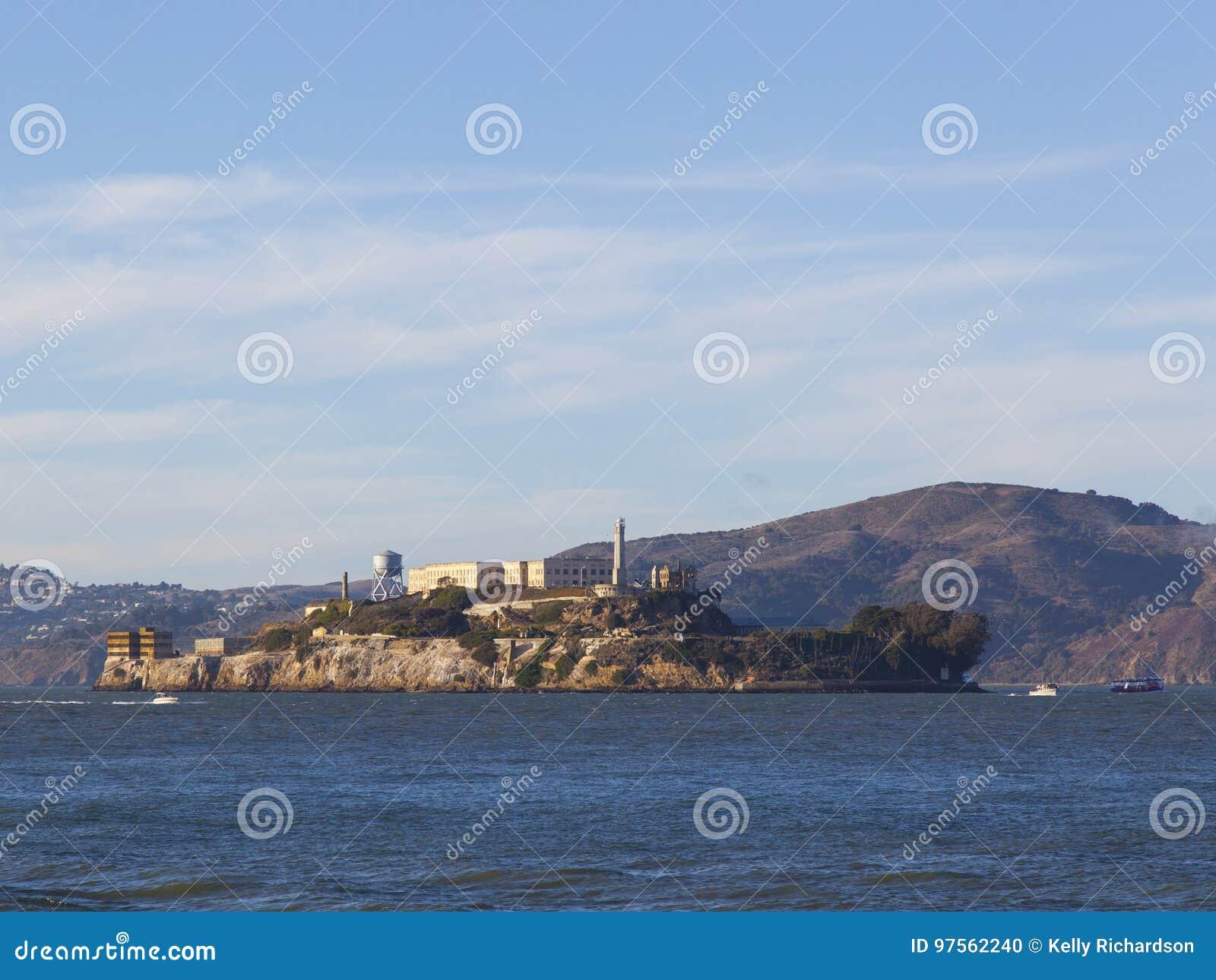 阿尔卡特拉斯岛联邦监狱,旧金山湾