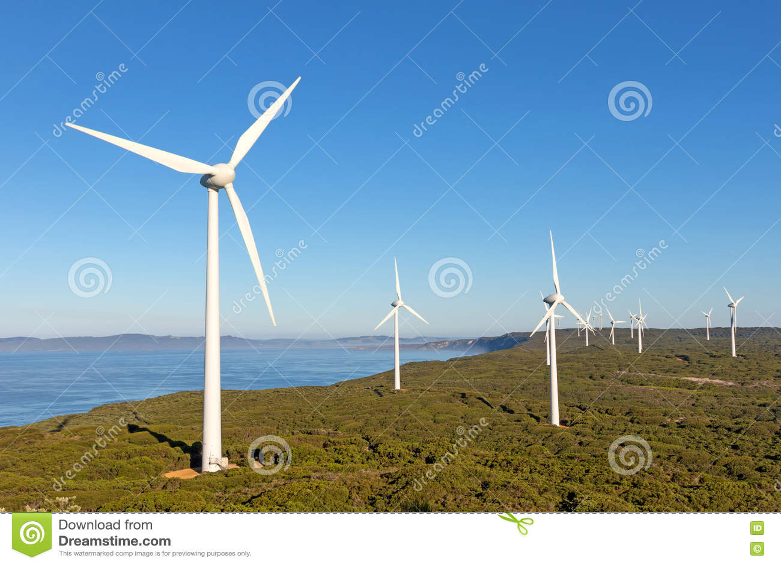 阿尔巴尼风力场