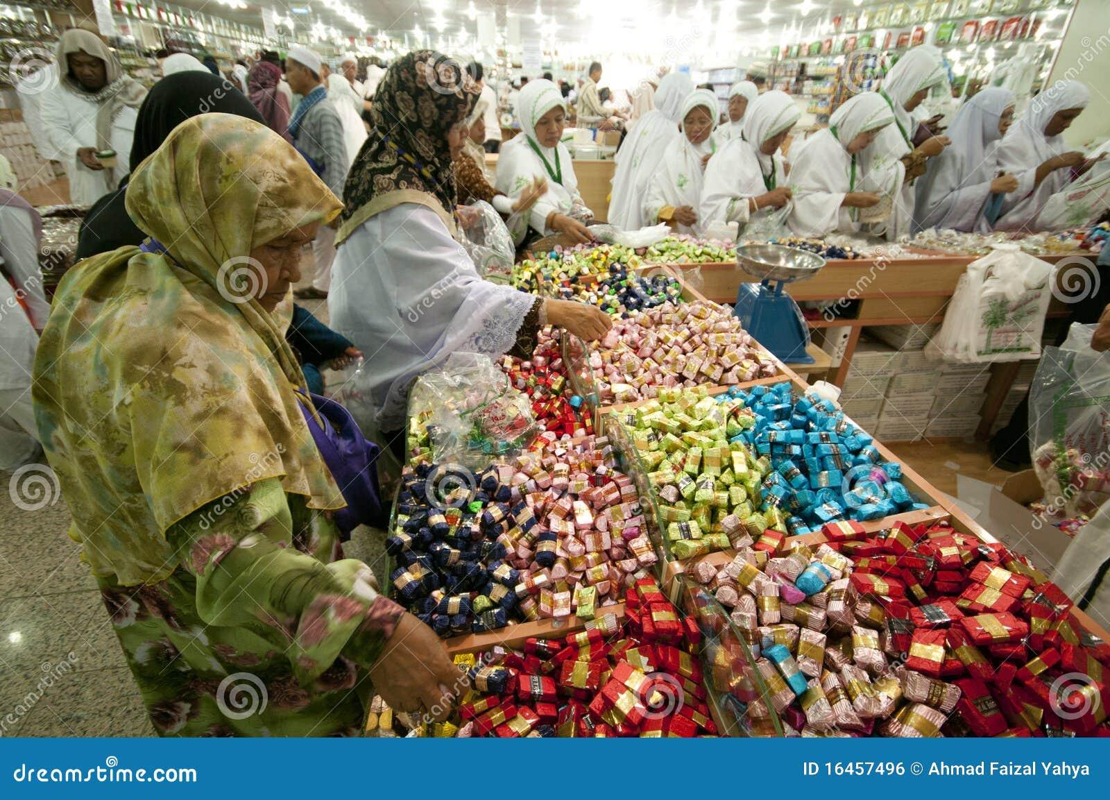 阿拉伯人出售甜点