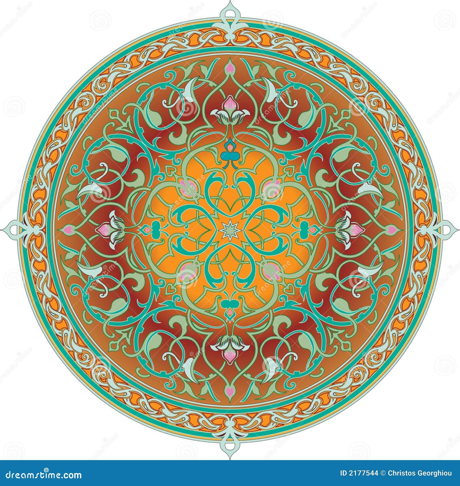 阿拉伯花卉主题模式