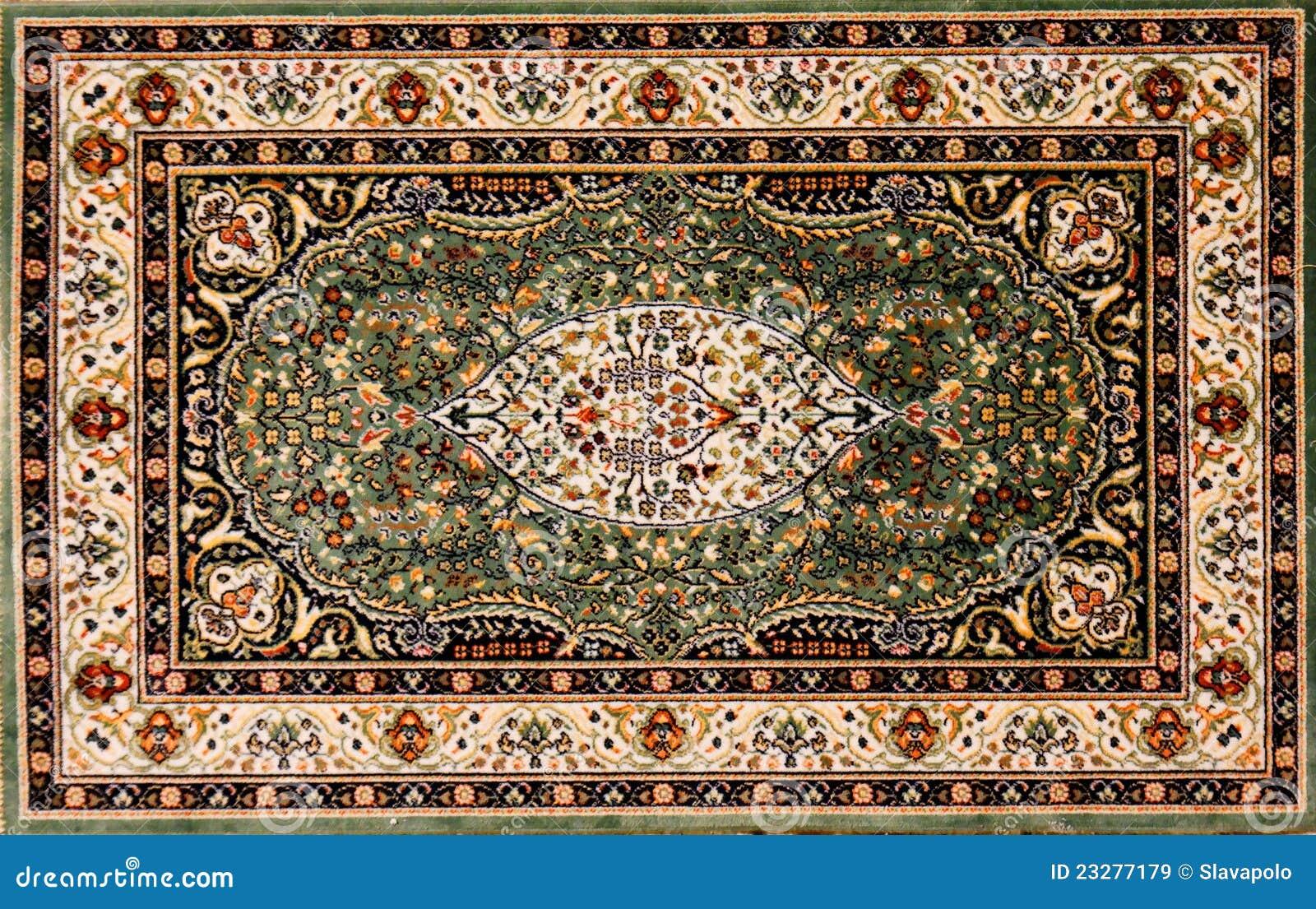 阿拉伯花卉模式地毯
