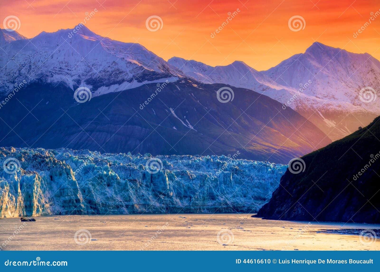 阿拉斯加冰川hubbard