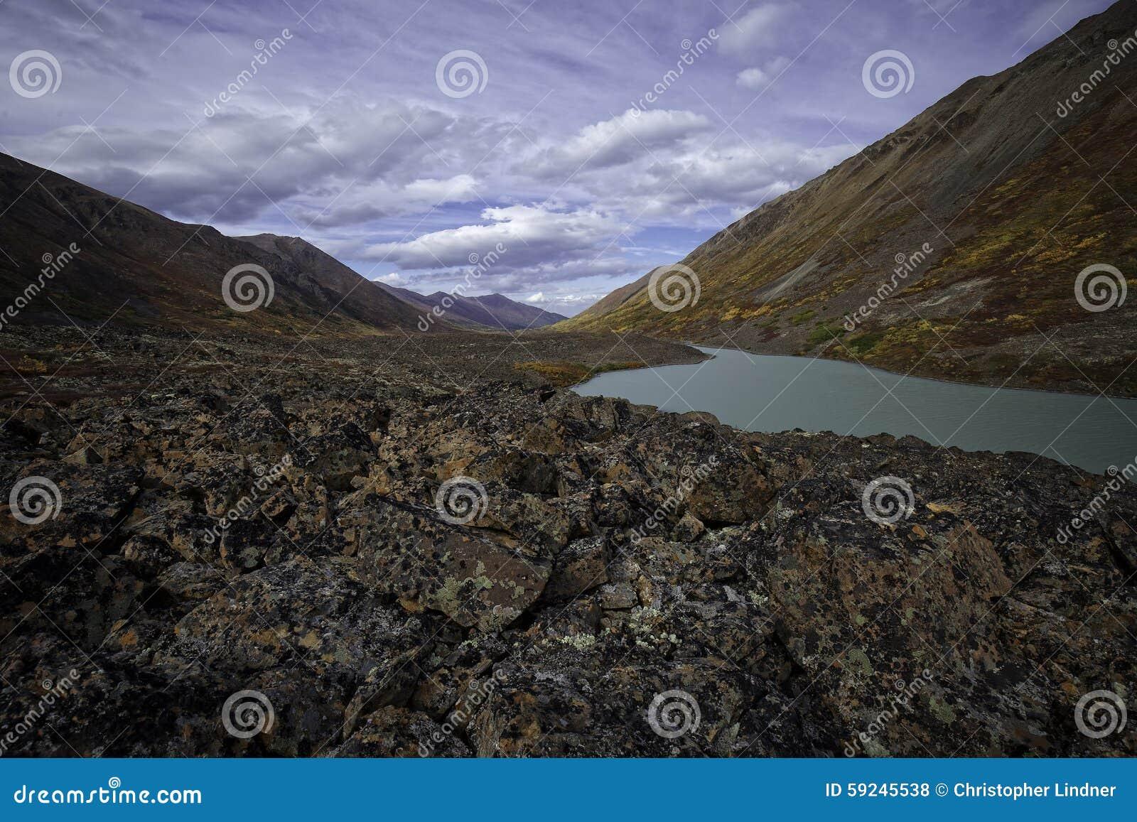 阿拉斯加的Country湖