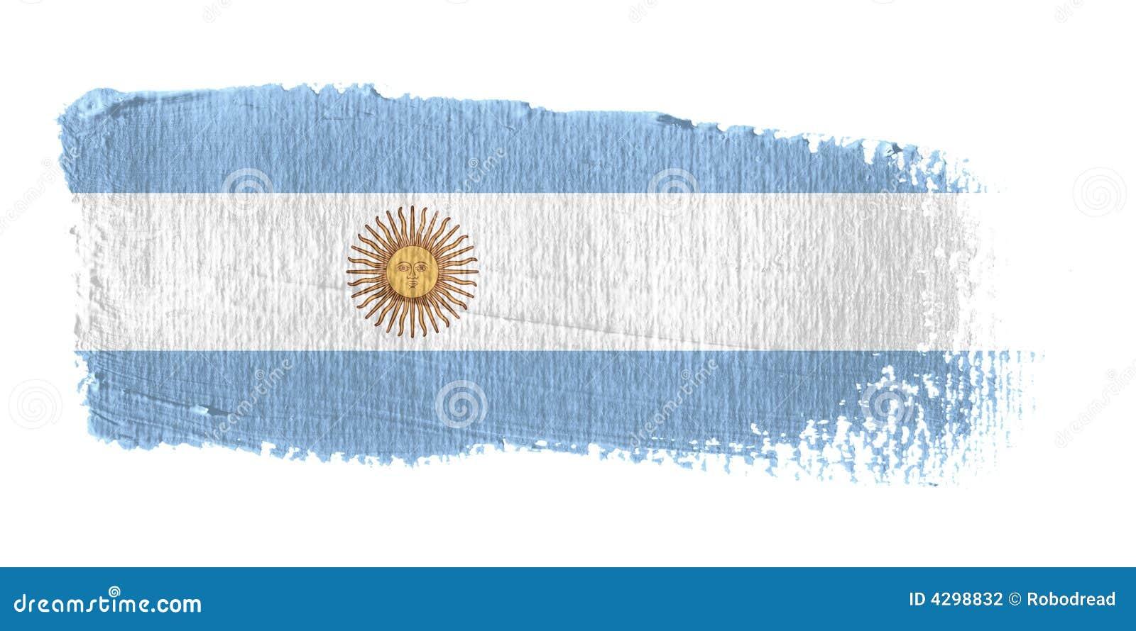 阿根廷绘画的技巧标志