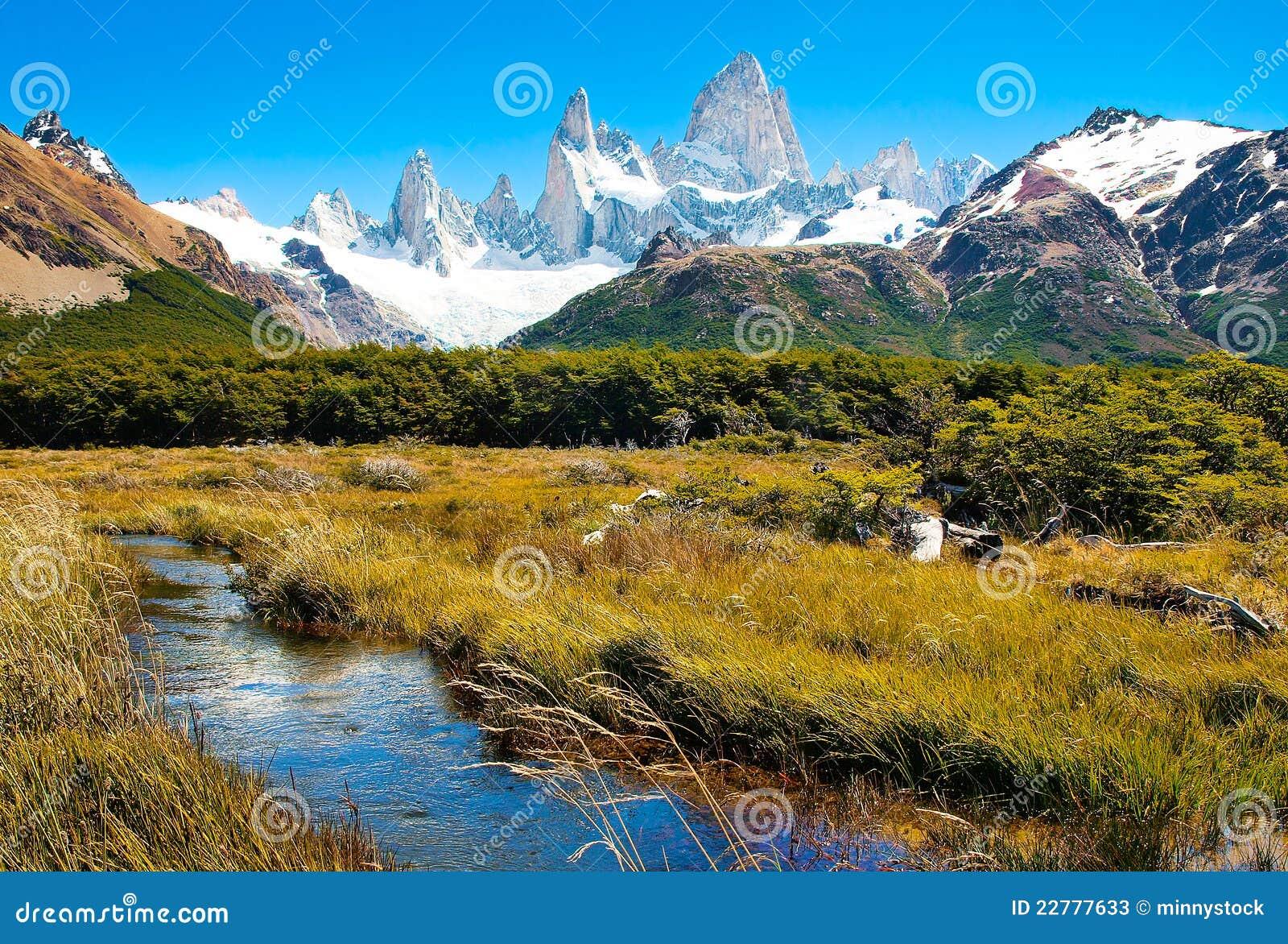 阿根廷美好的横向本质巴塔哥尼亚