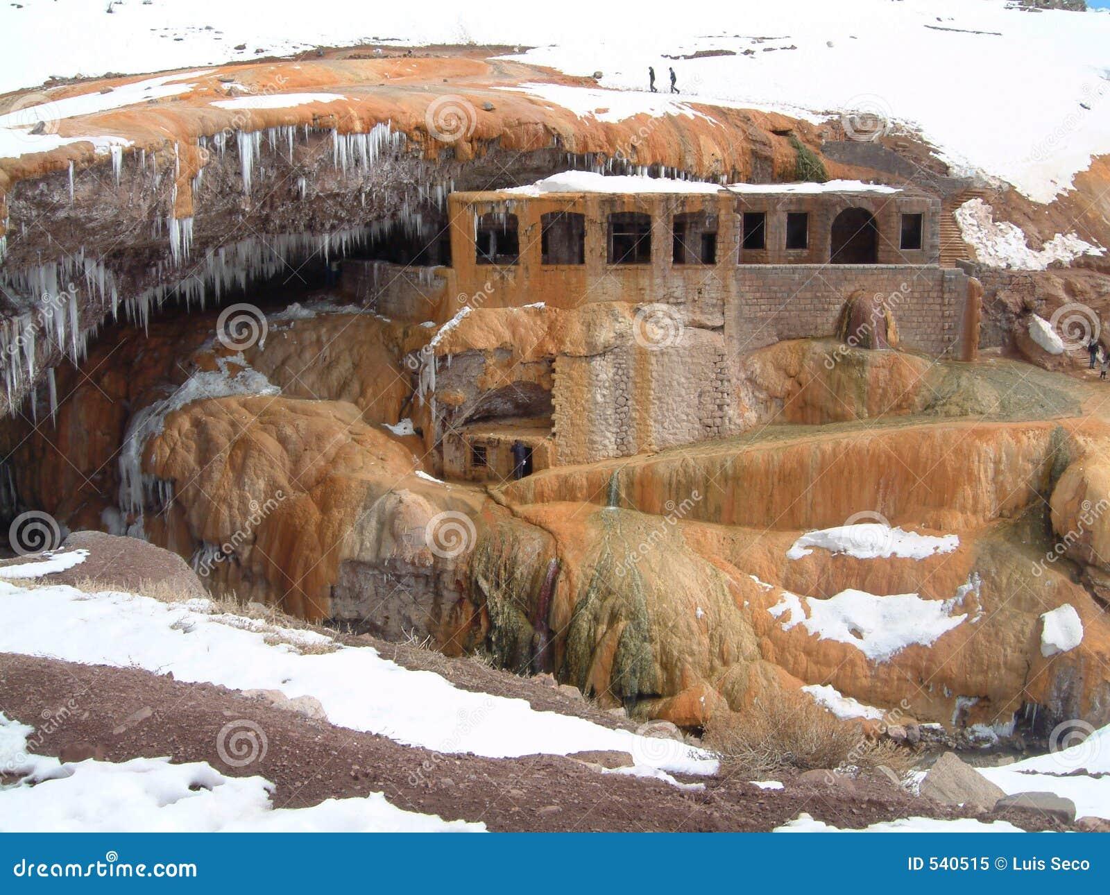 Download 阿根廷bath Del Inca Puente上升暖流水 库存图片 - 图片 包括有 前面, 拱道: 540515