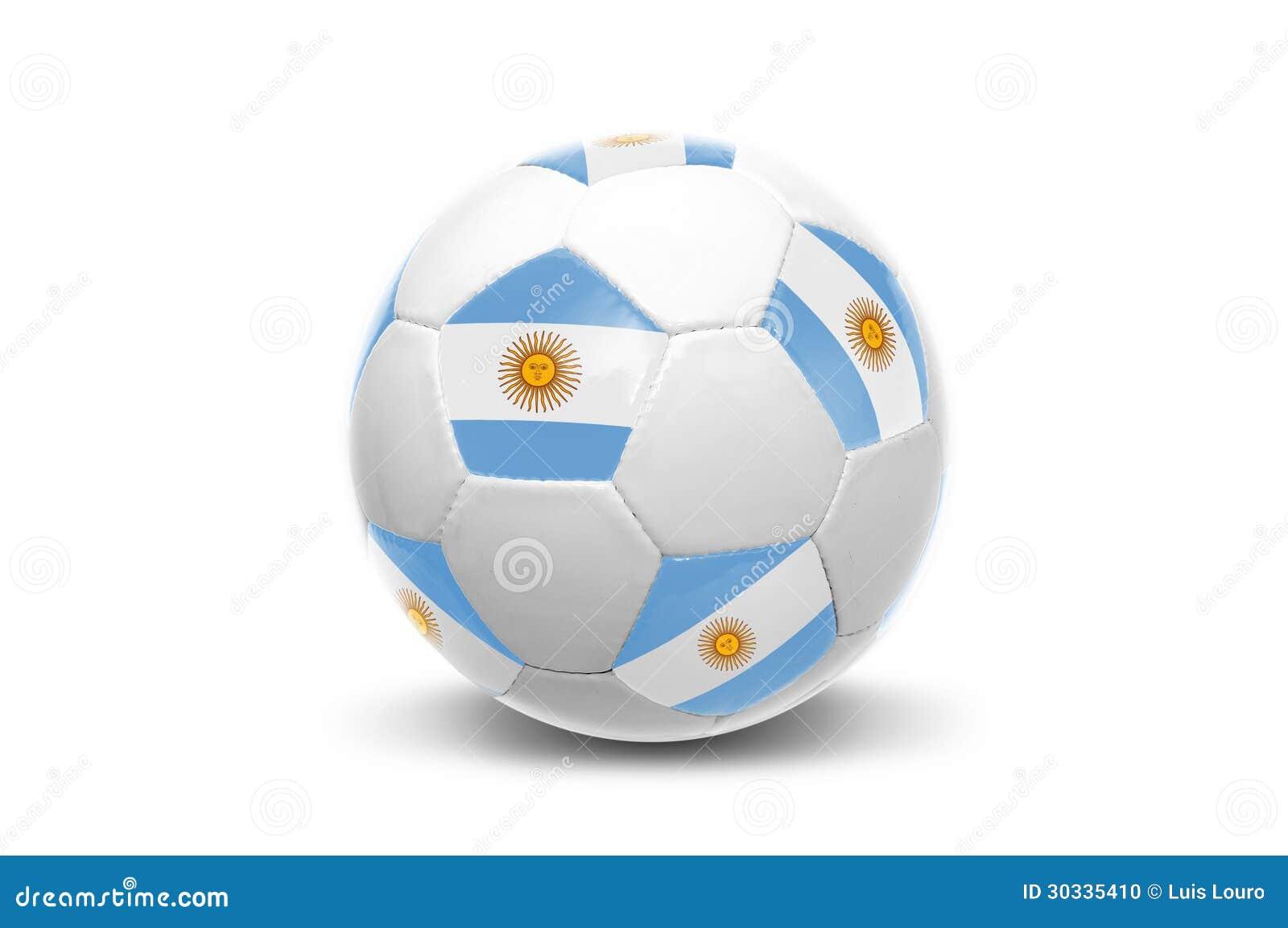 阿根廷旗子足球
