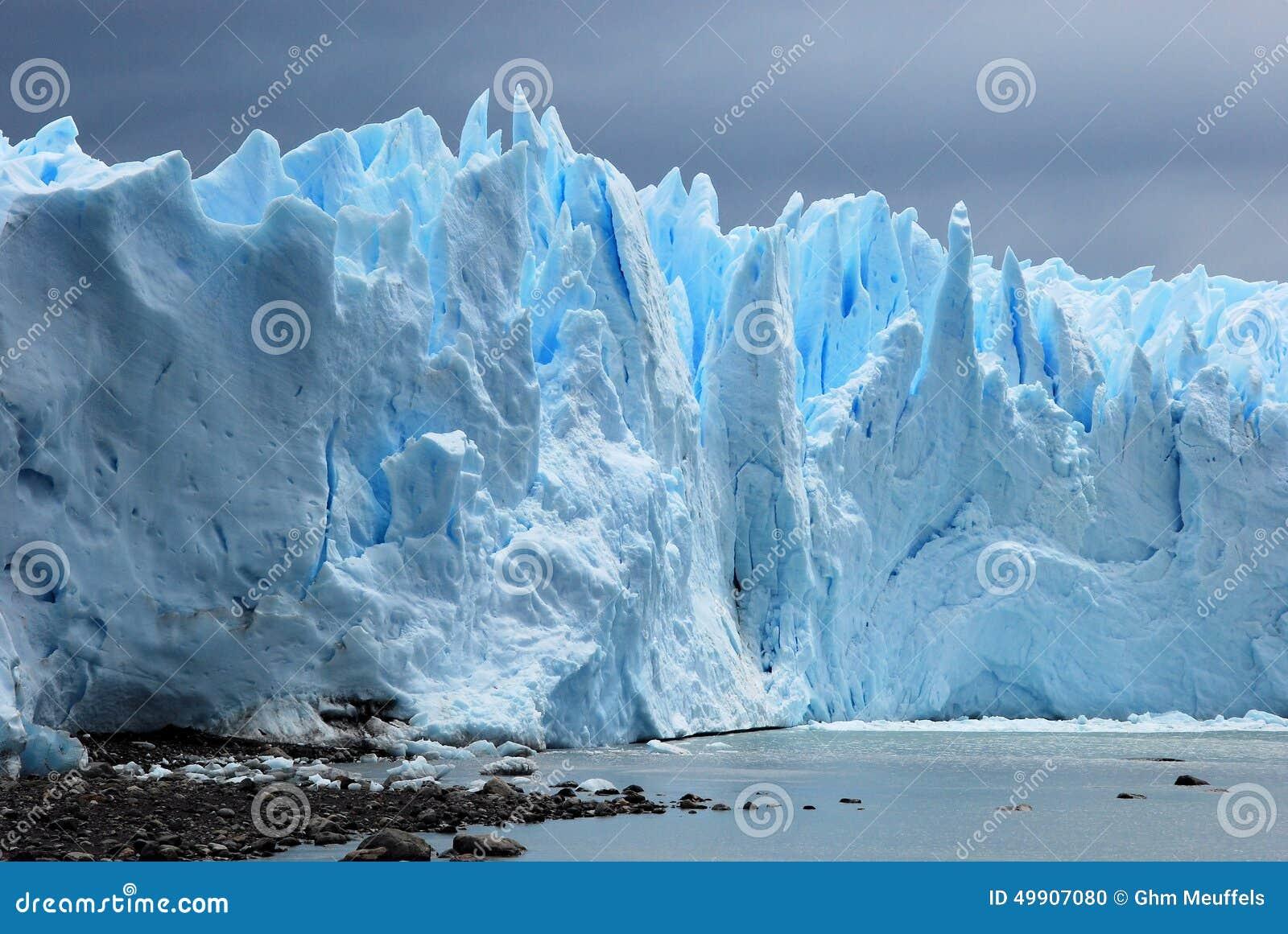 从阿根廷湖-阿根廷看见的冰河冰佩里托莫雷诺冰川