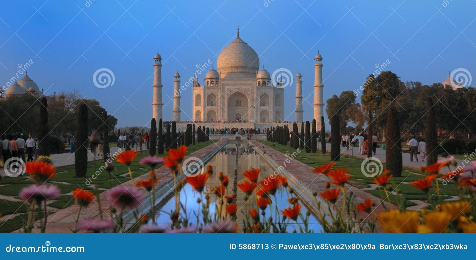 阿格拉印度mahal taj