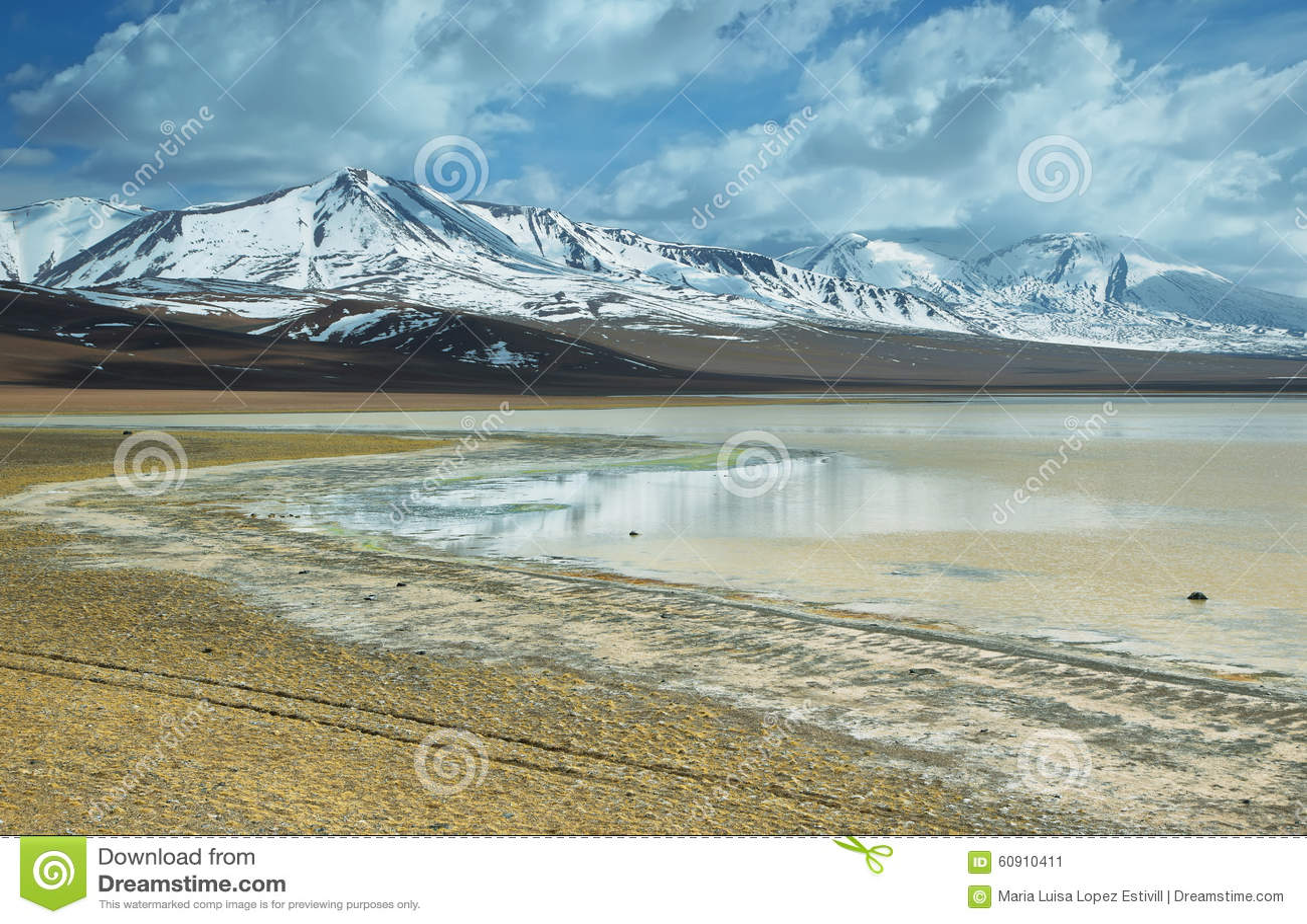 阿瓜calientes盐湖