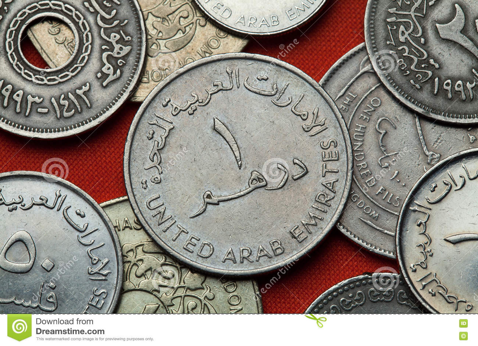 阿联酋的硬币