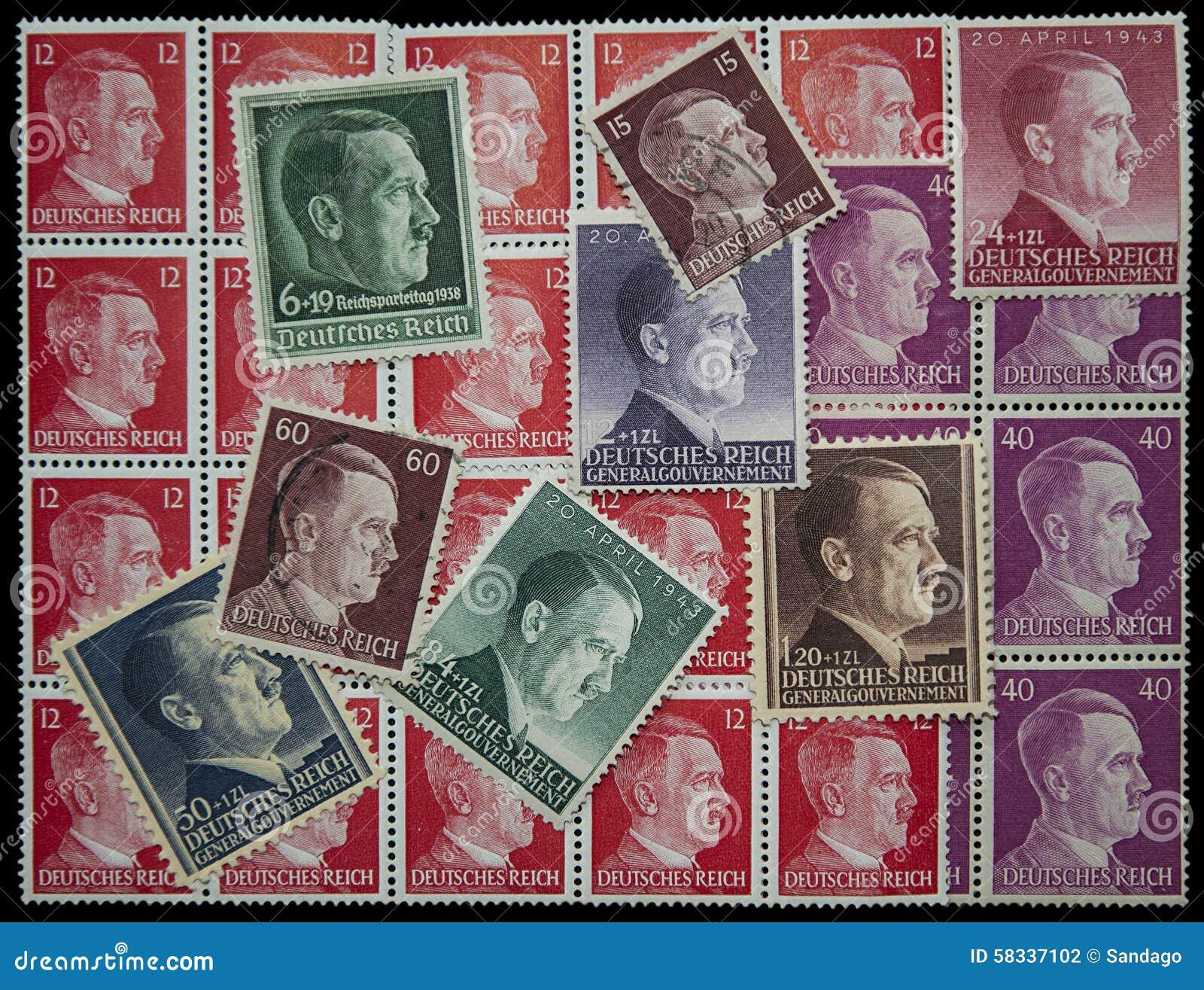 阿道夫・希特勒岗位邮票