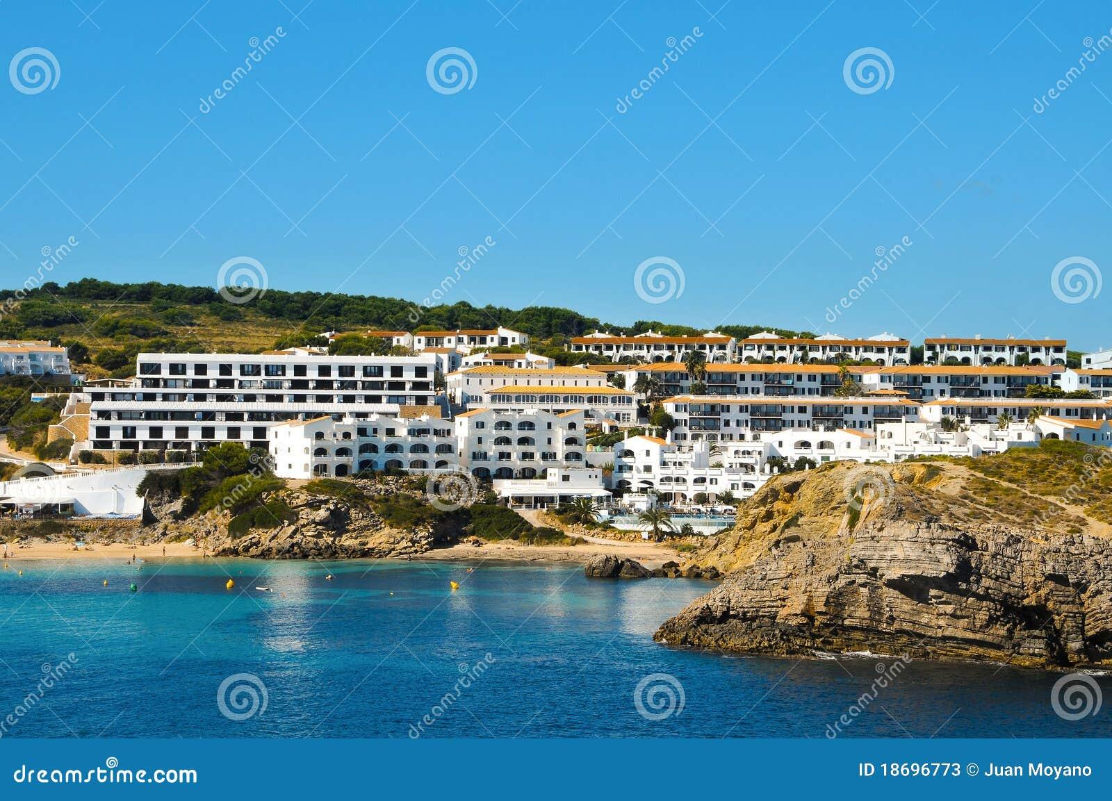 阿雷纳尔海滩castell d ES menorca