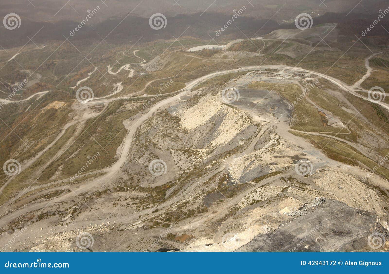阿巴拉契亚边陆的煤矿