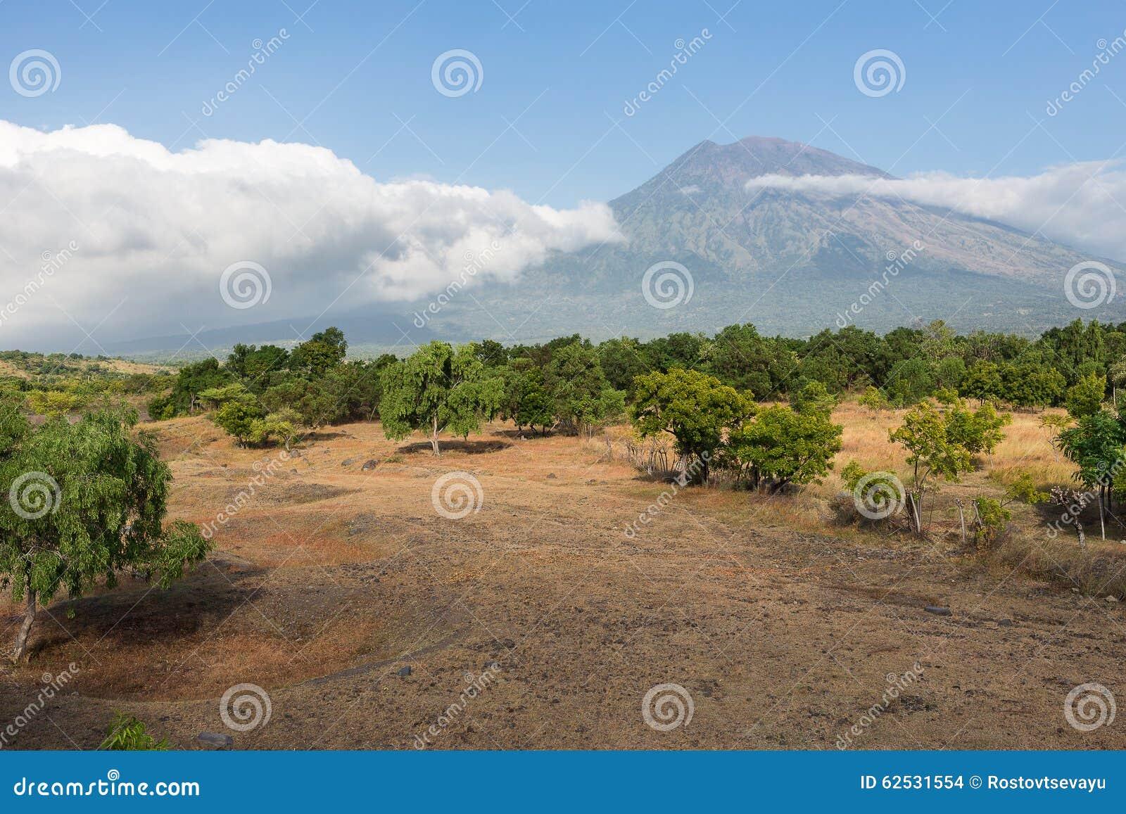 阿贡火山,巴厘岛看法