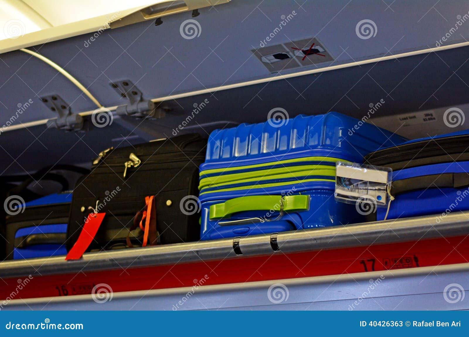 随身携带和顶上的行李