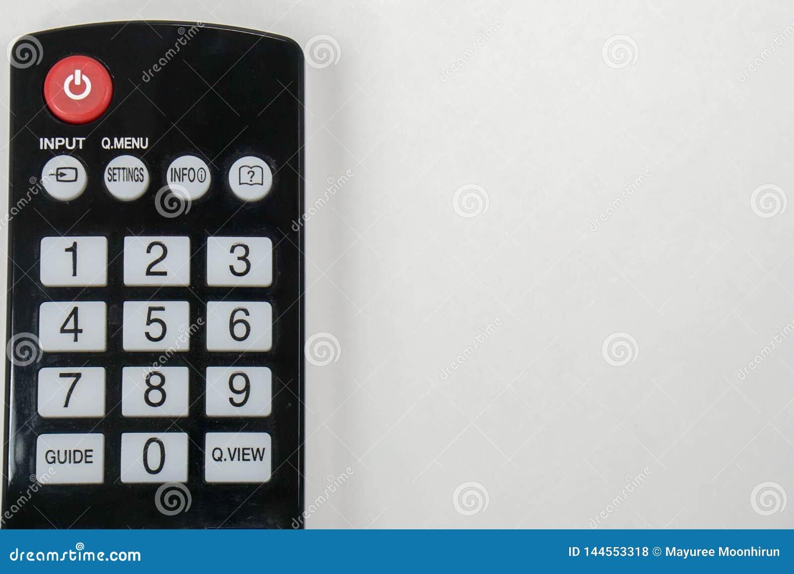 隔绝紧密在家遥控聪明的电视的