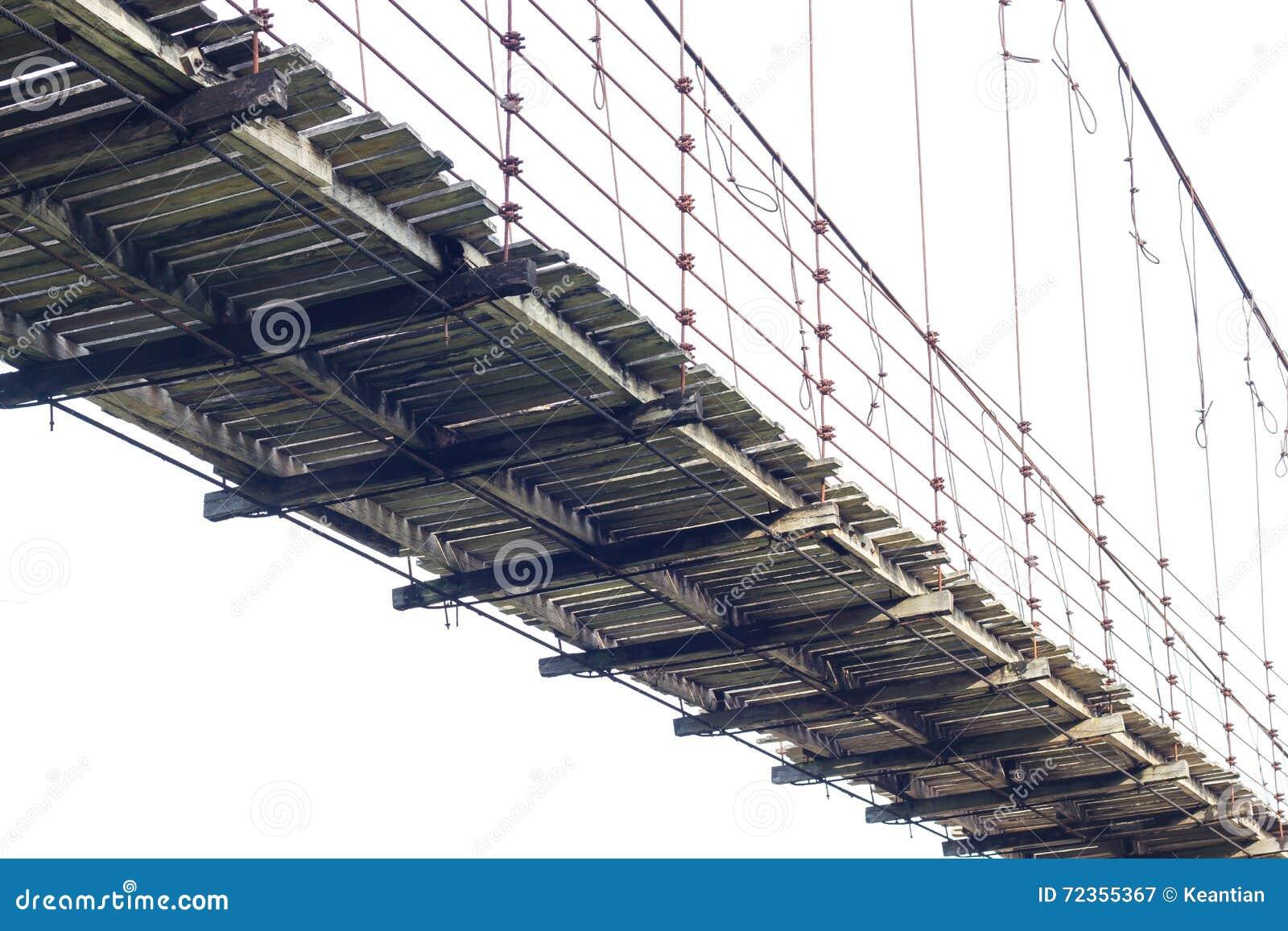 隔绝木吊桥