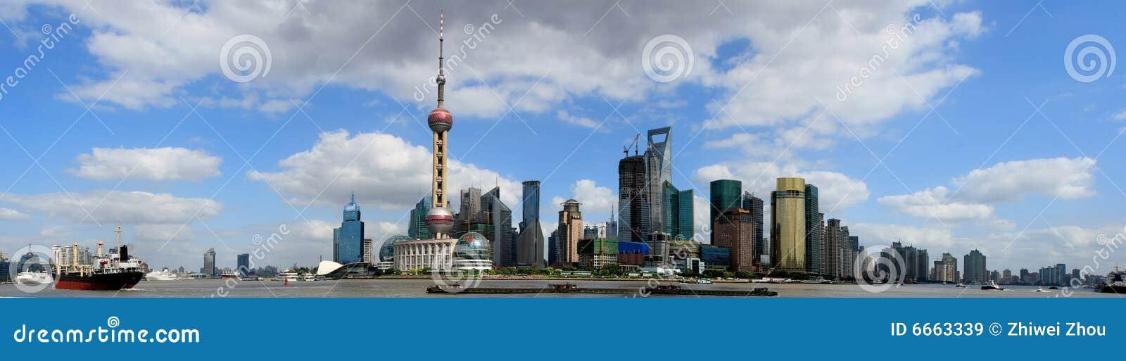 障壁全景上海