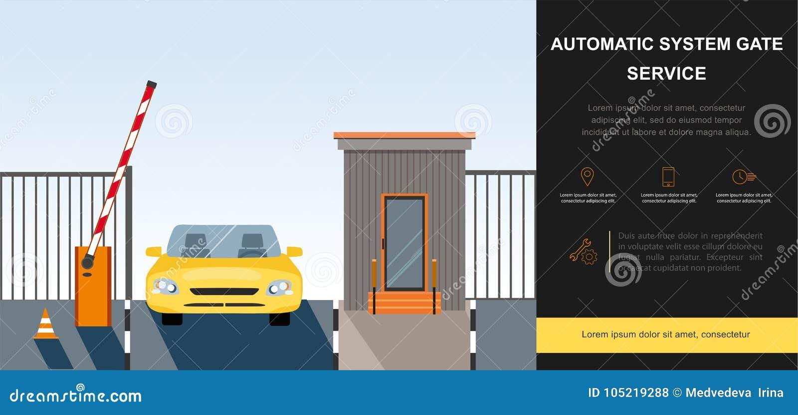障碍门自动化系统