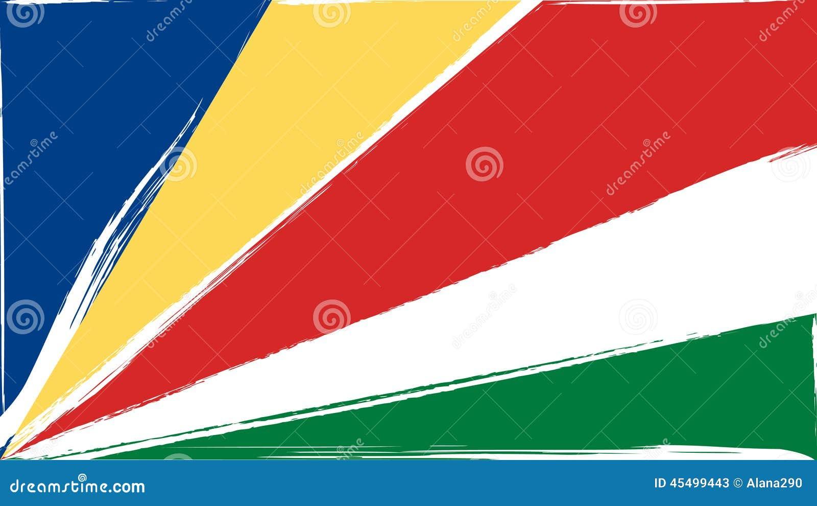 难看的东西塞舌尔群岛旗子