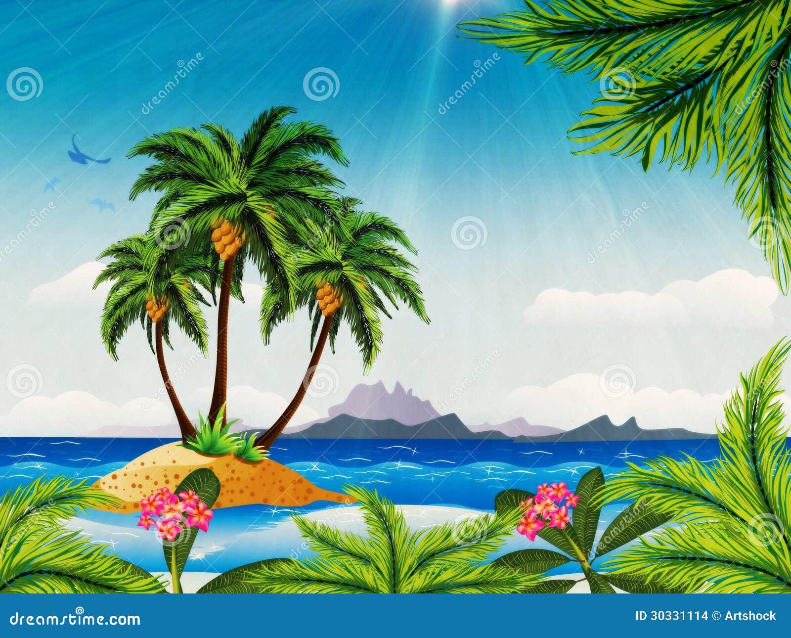 难看的东西热带海岛在海洋