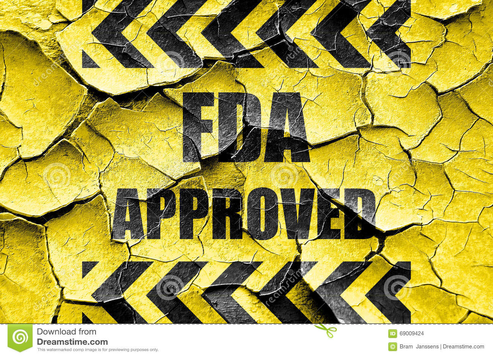 难看的东西破裂的FDA批准的背景