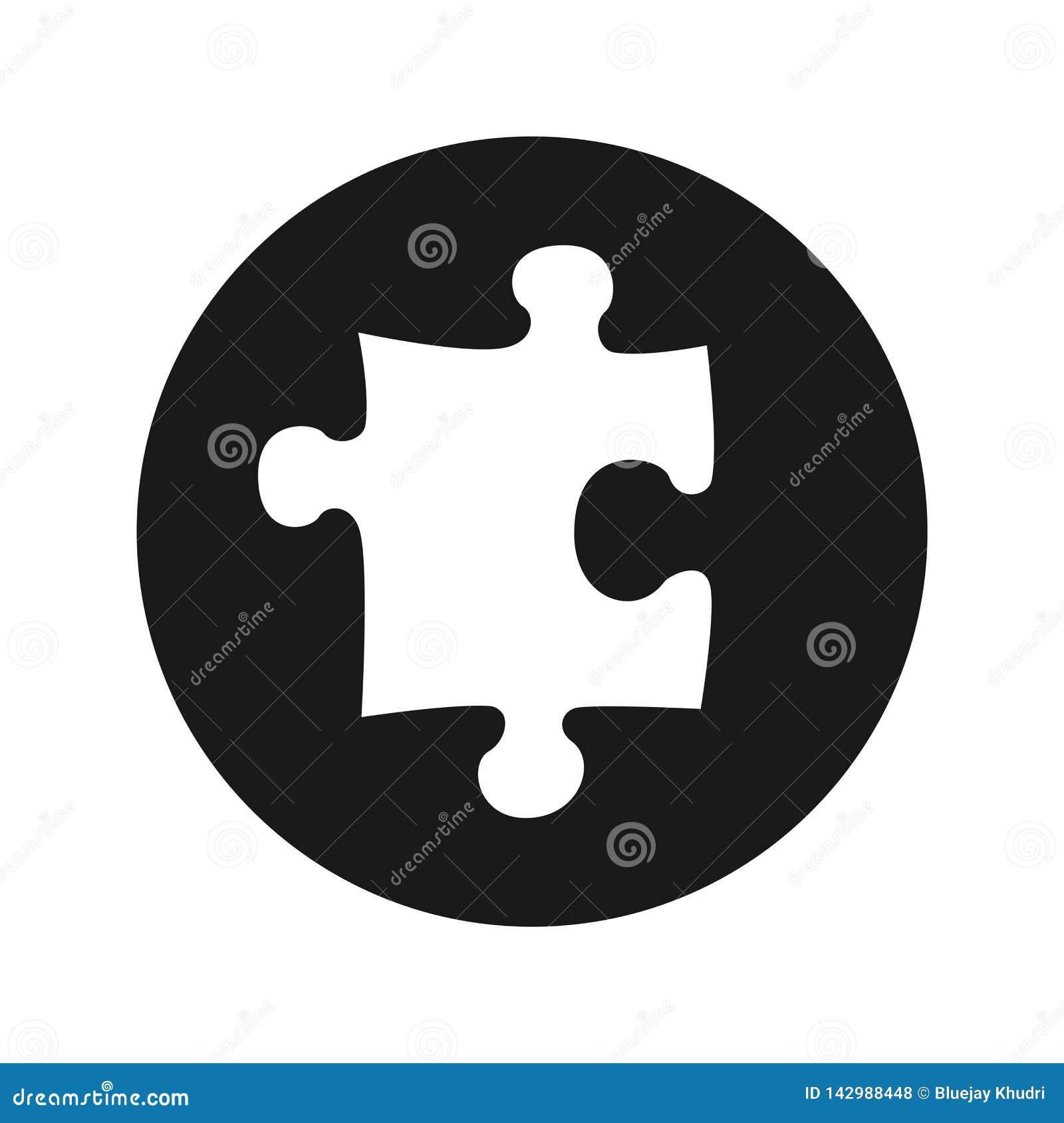 难题象浅黑圆的按钮传染媒介例证
