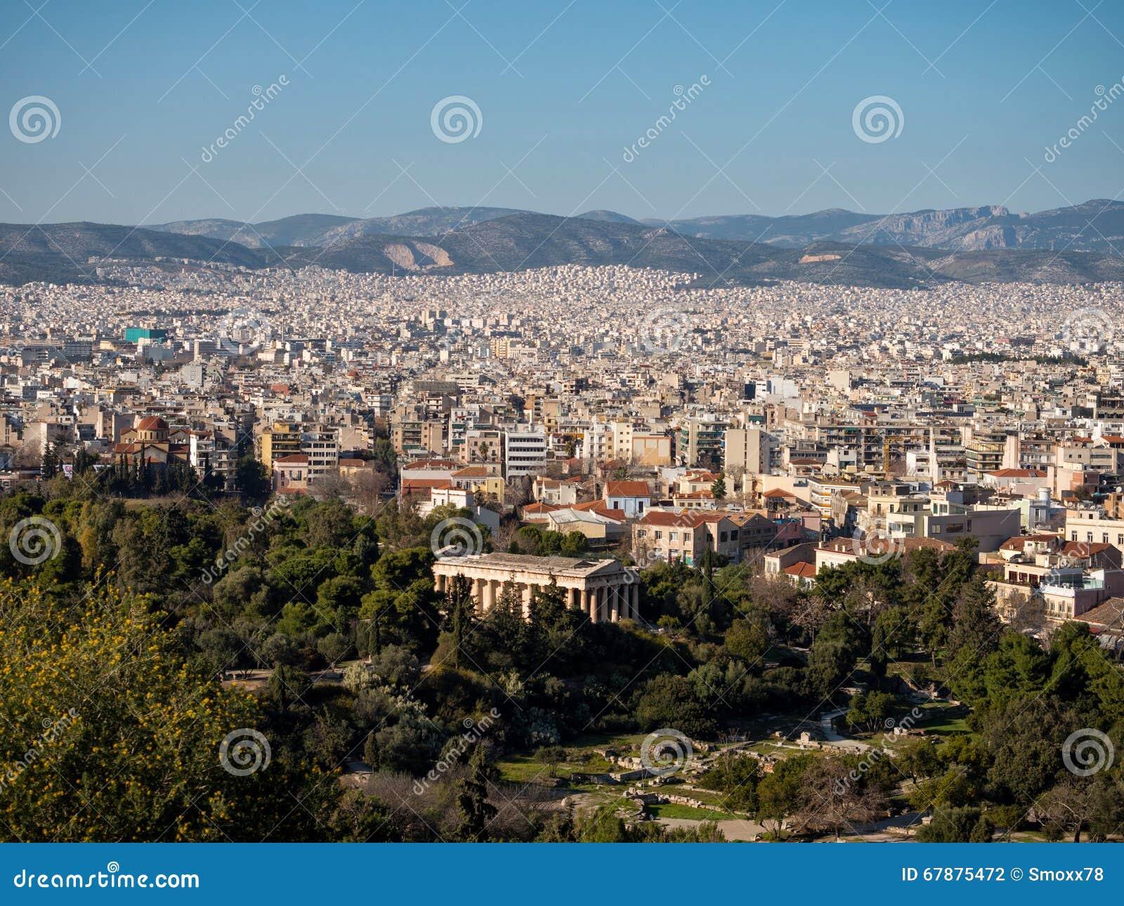 雅典市全景