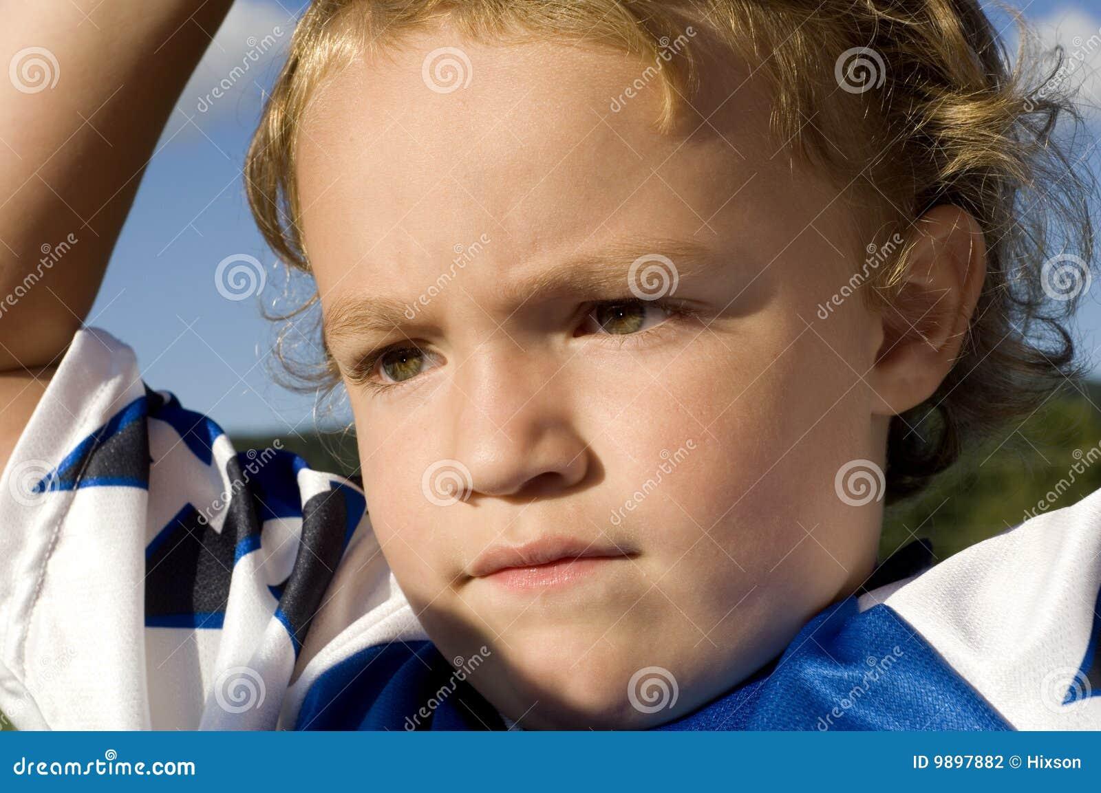 集中球员足球