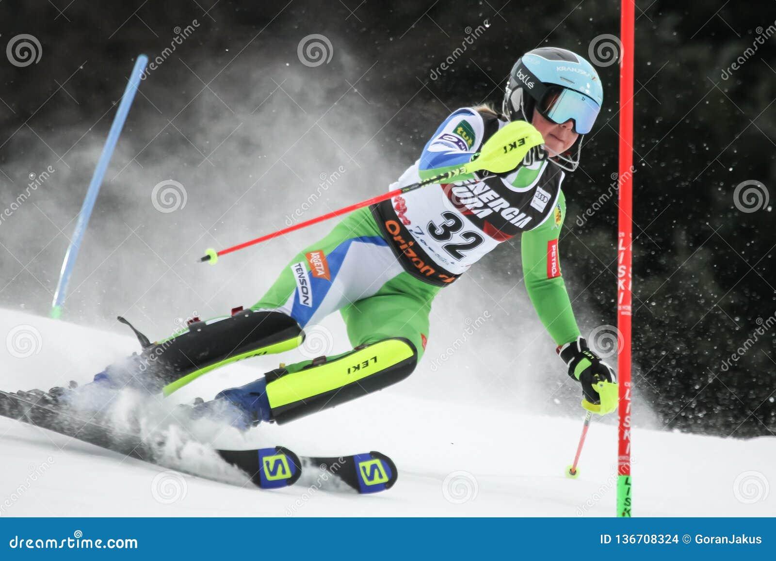 雪女王战利品2019年-夫人障碍滑雪