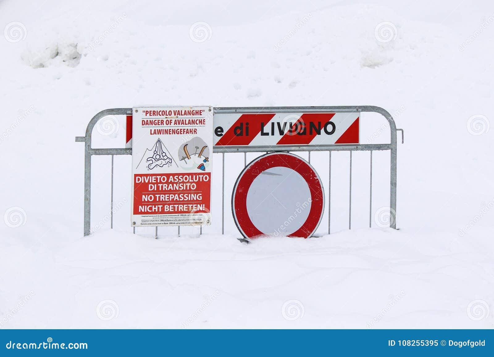 雪崩的危险签到雪
