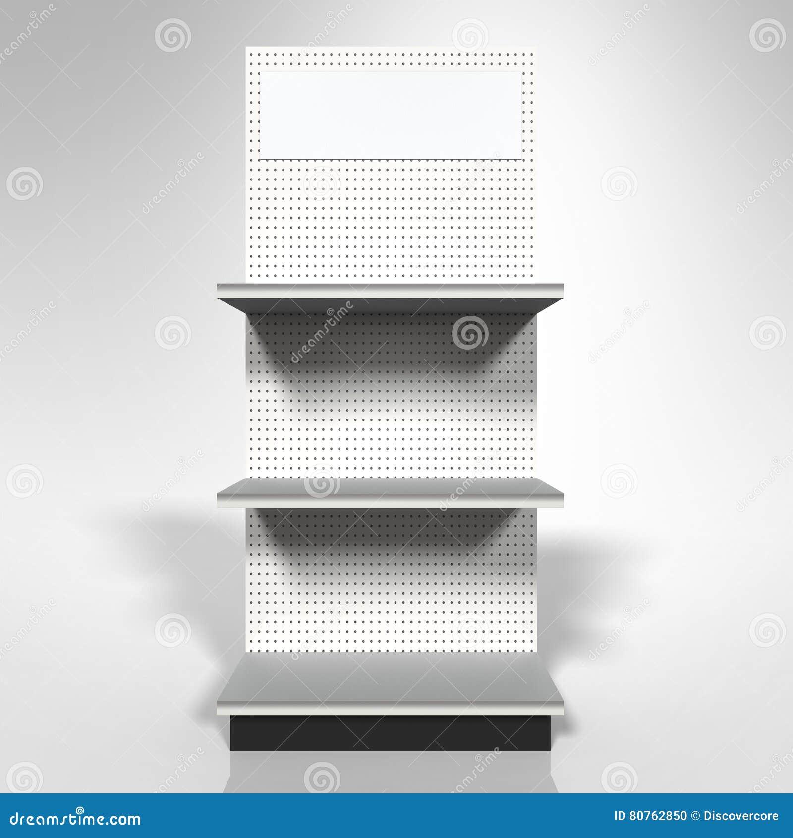 零售商品推销架子模板3