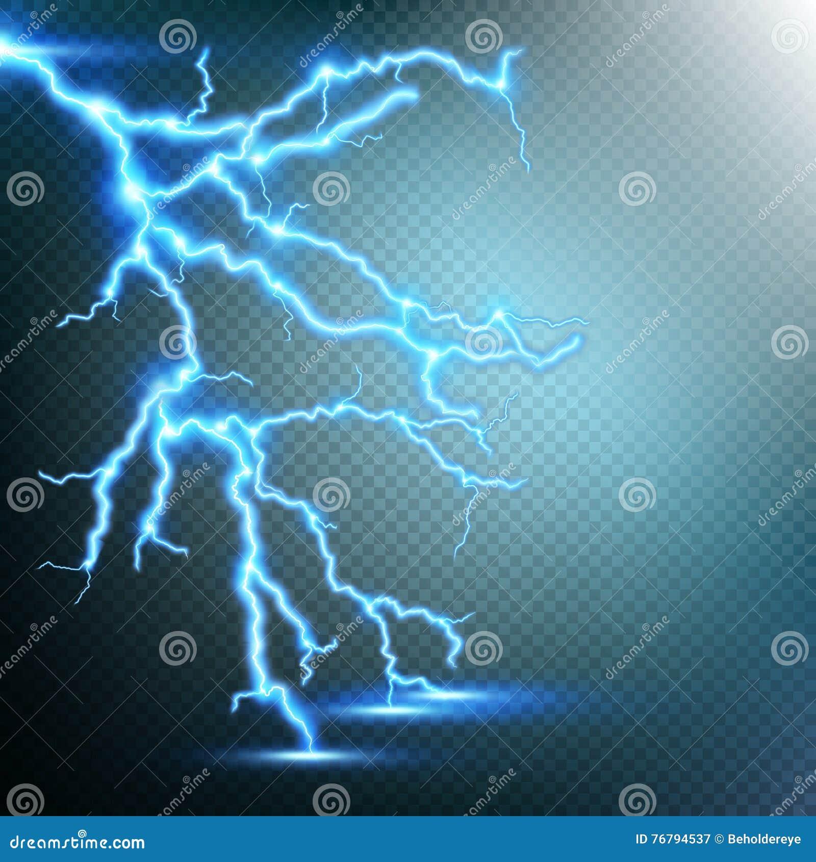 雷暴和闪电 10 eps