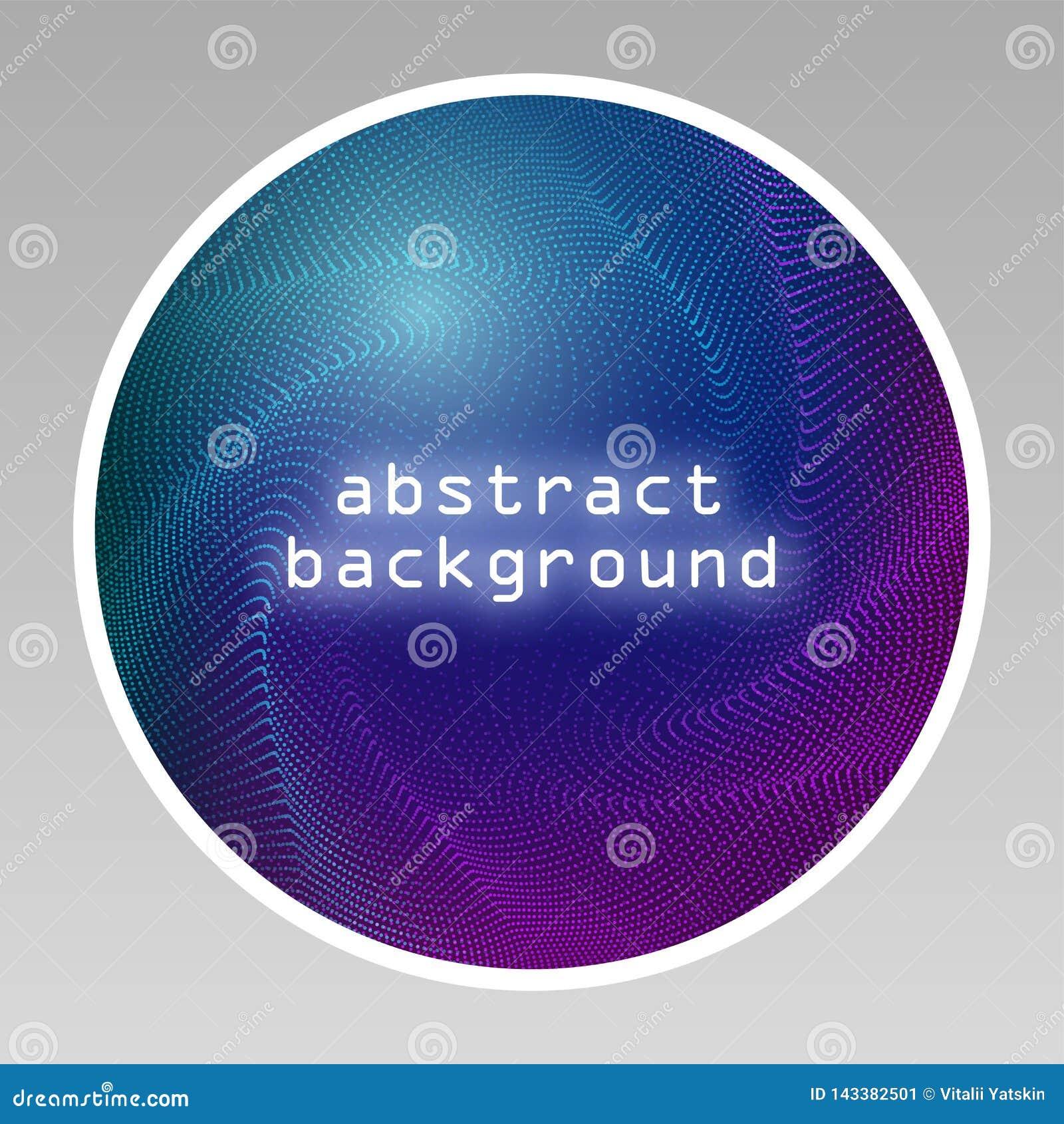 霓虹ny符号体育场美国人 与发光和光的圆的框架 在深蓝背景的电明亮的3d电路横幅设计