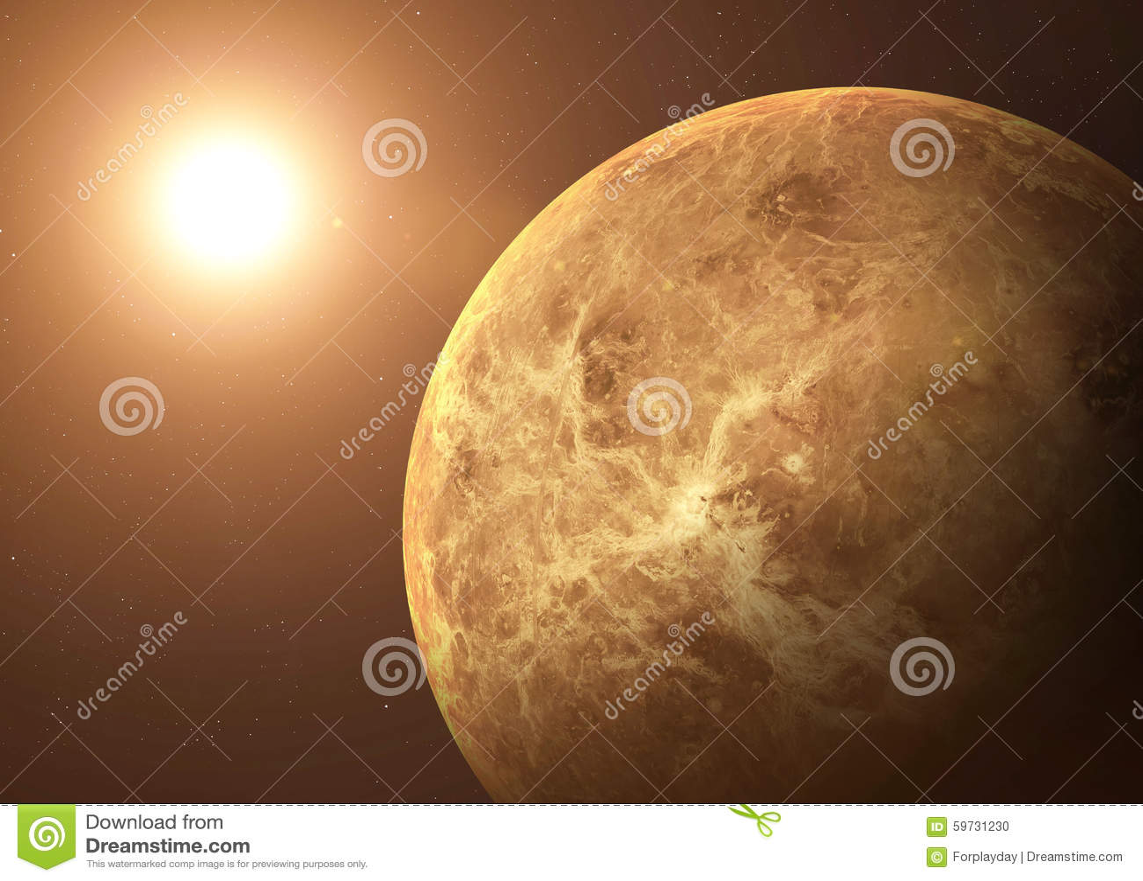 从露天场所采取的射击金星 拼贴画