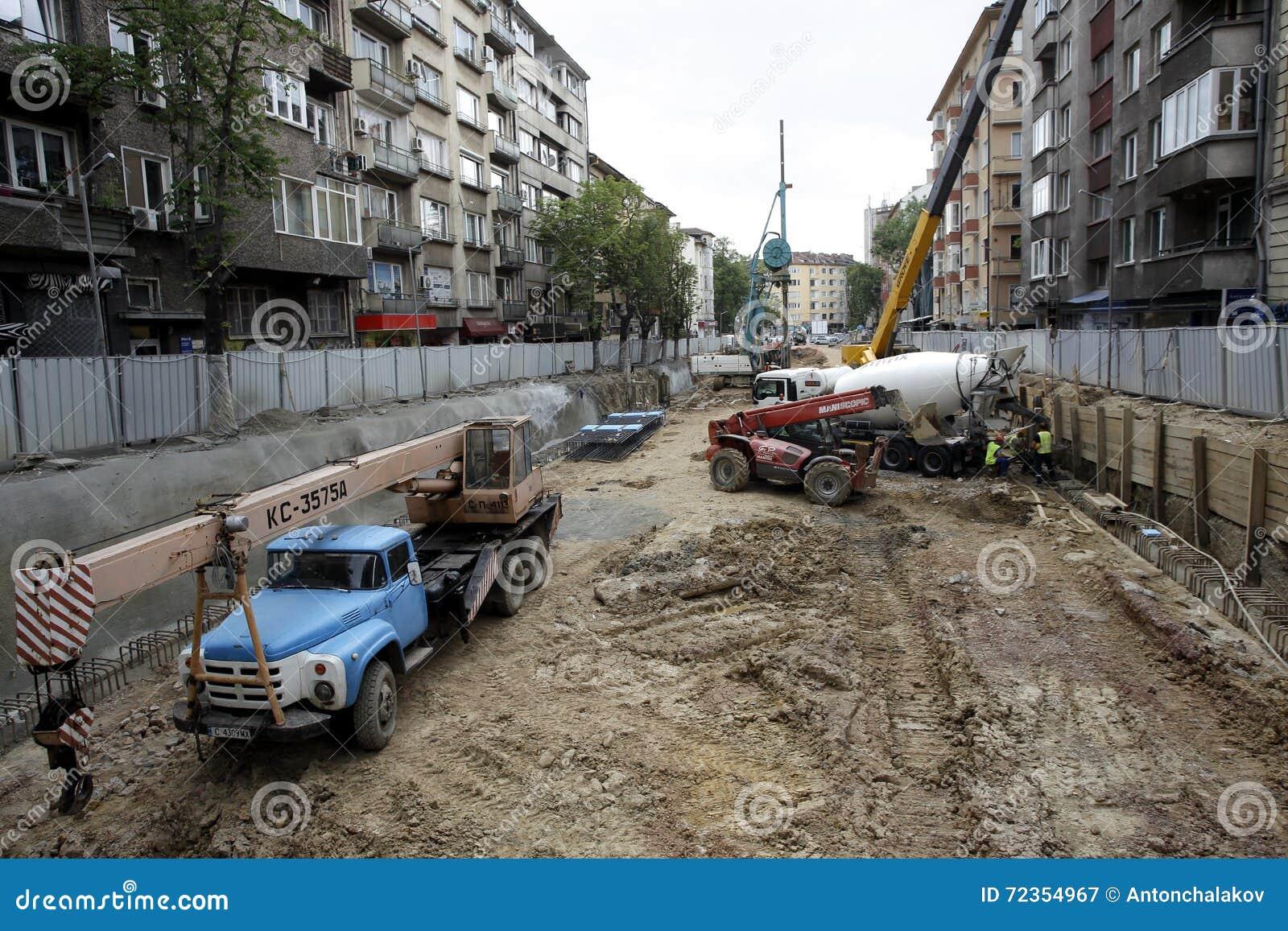 索非亚保加利亚建筑地铁