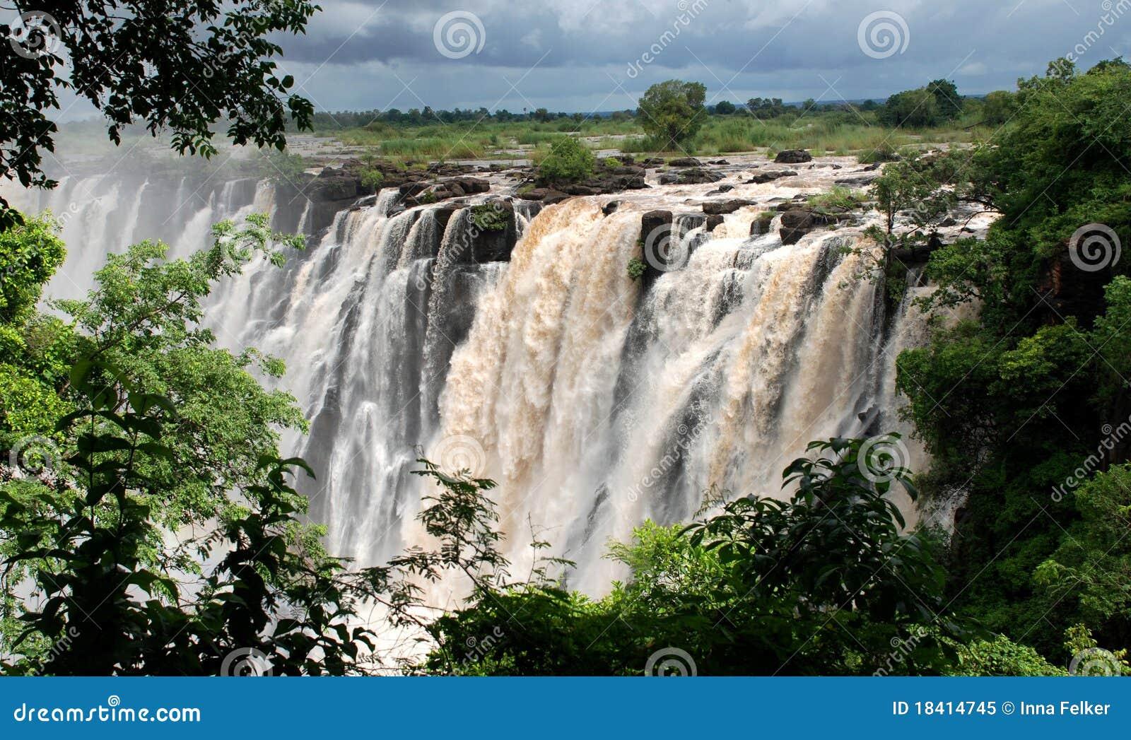 非洲南维多利亚瀑布