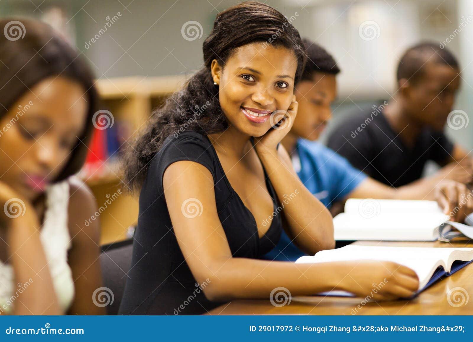 非洲大学生