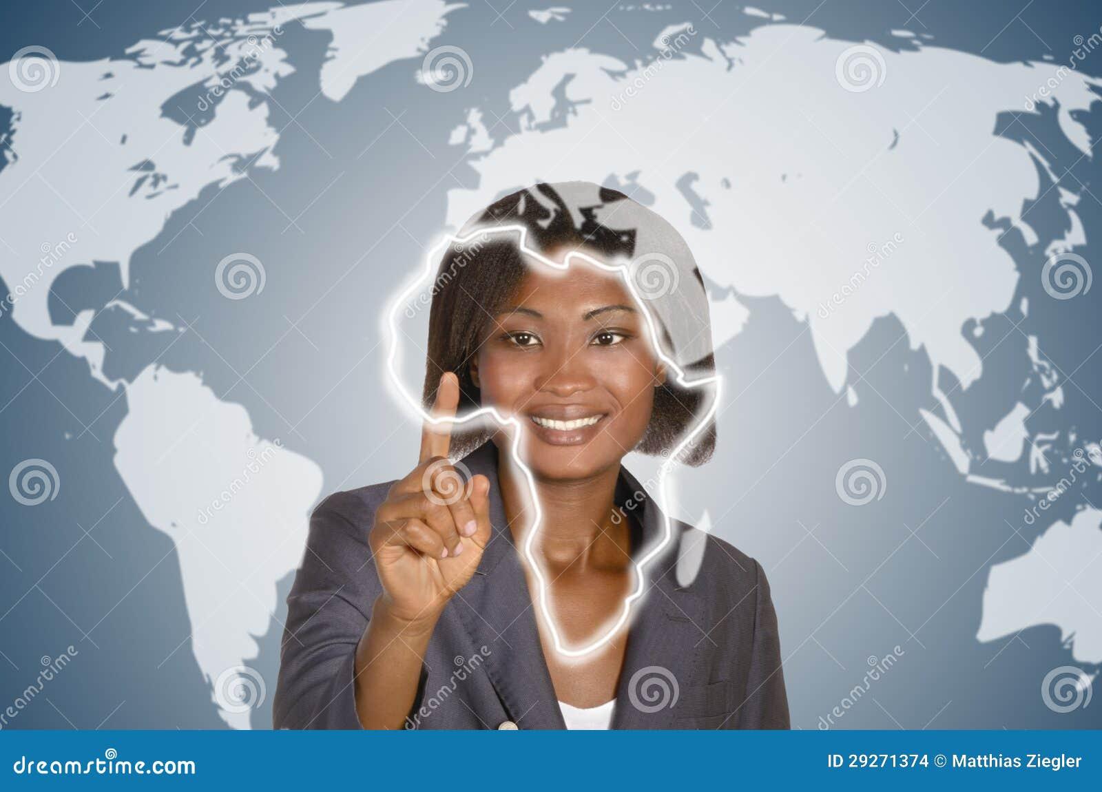 非洲女商人,社会网络