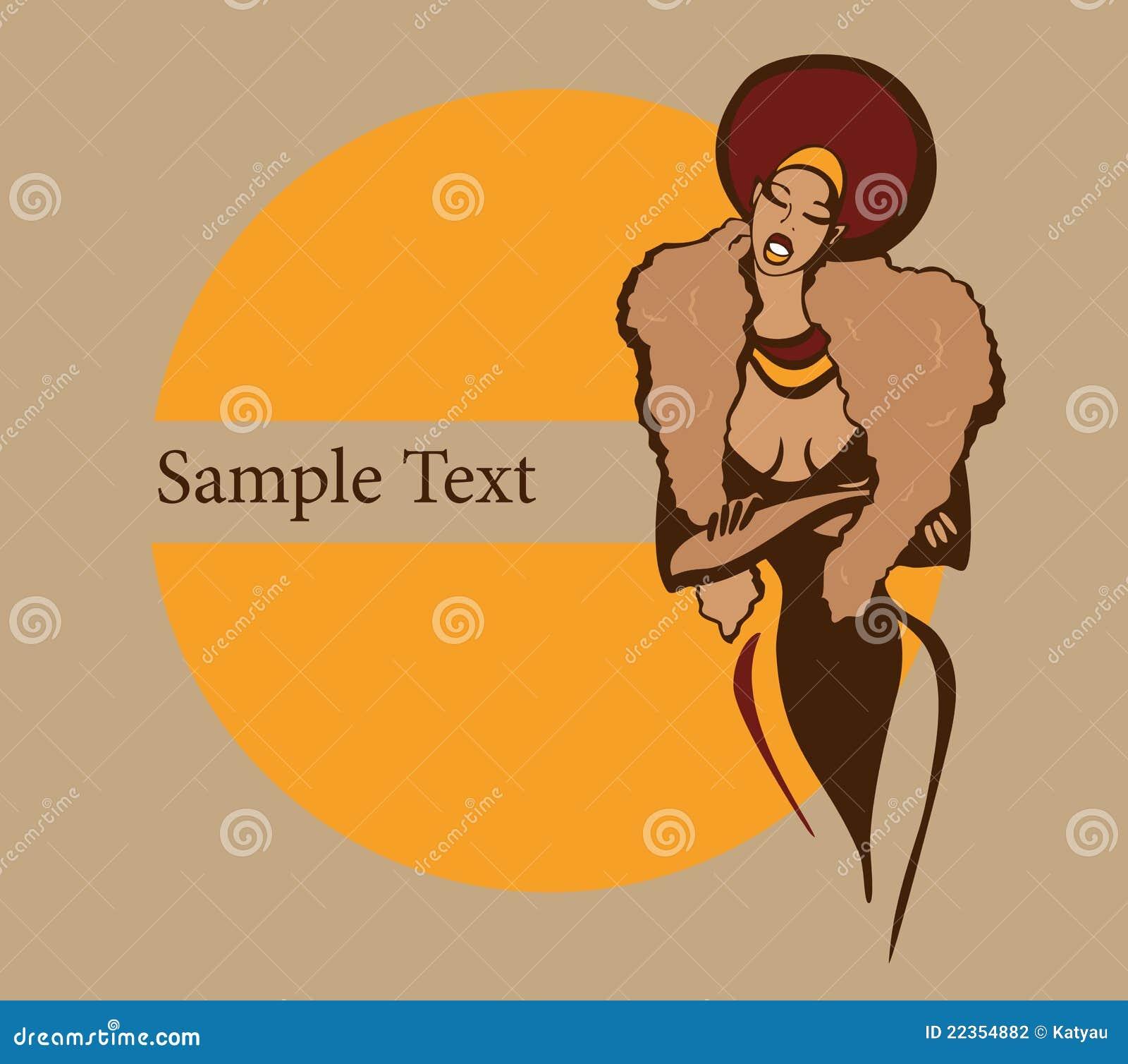 非洲美丽的妇女