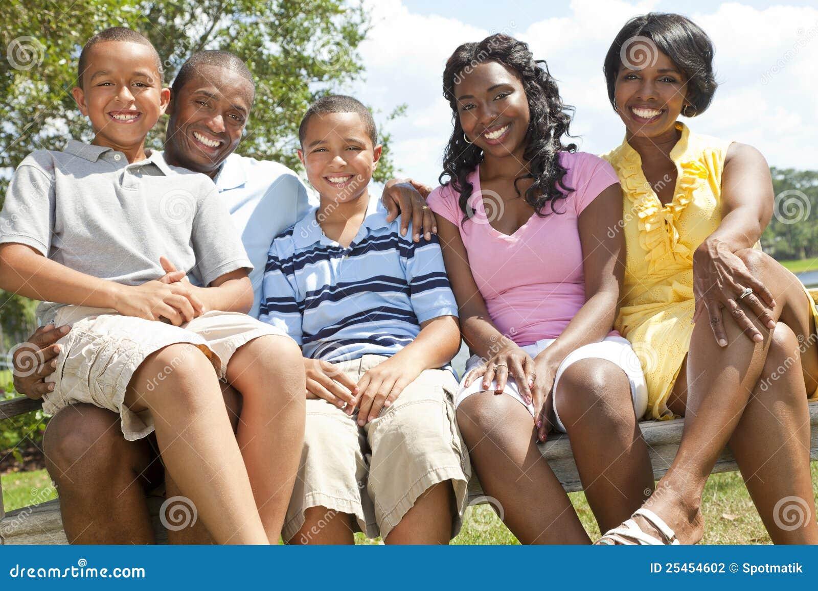 非洲裔美国人的儿童系列父项