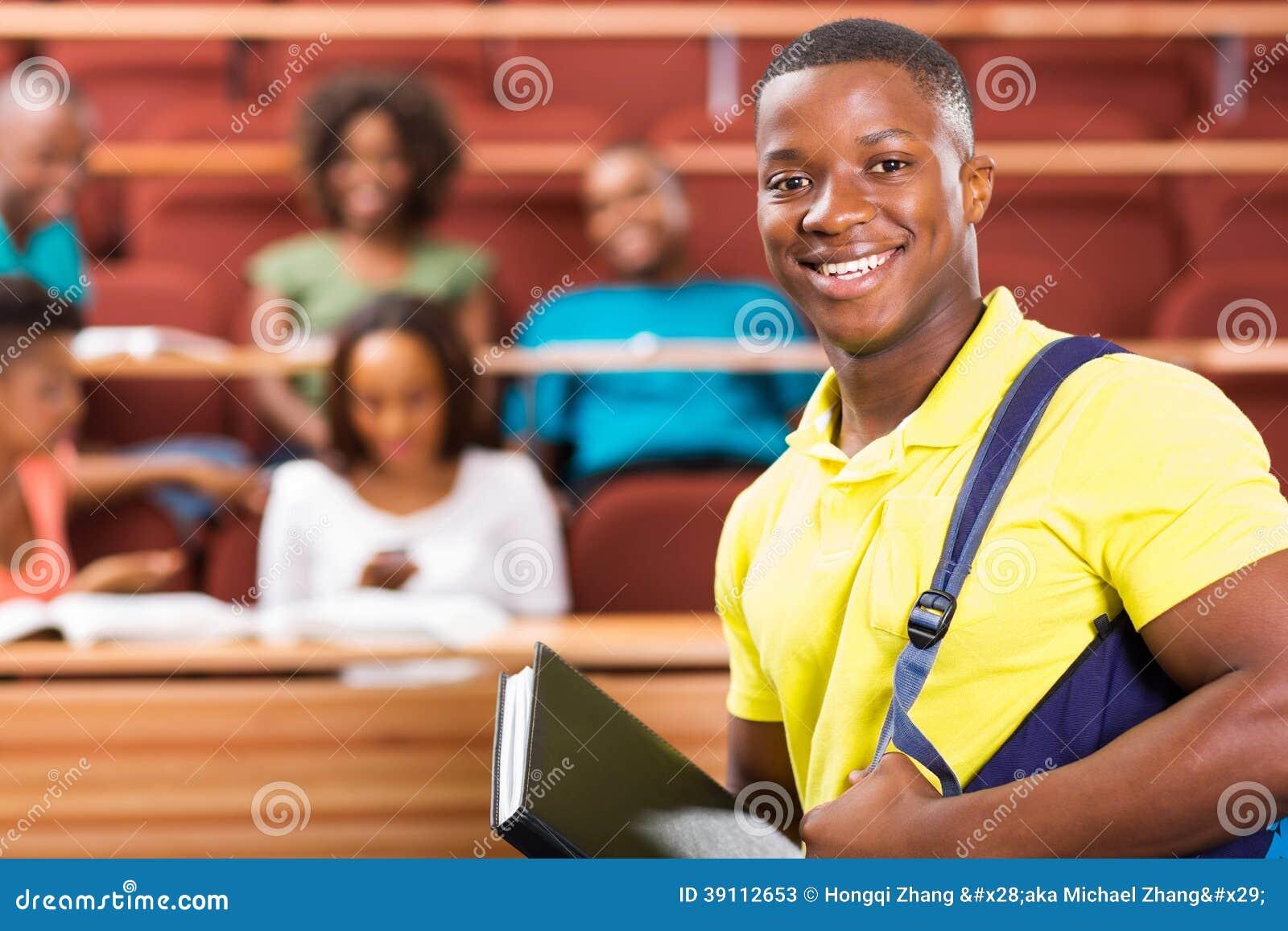 非裔美国人的大学生