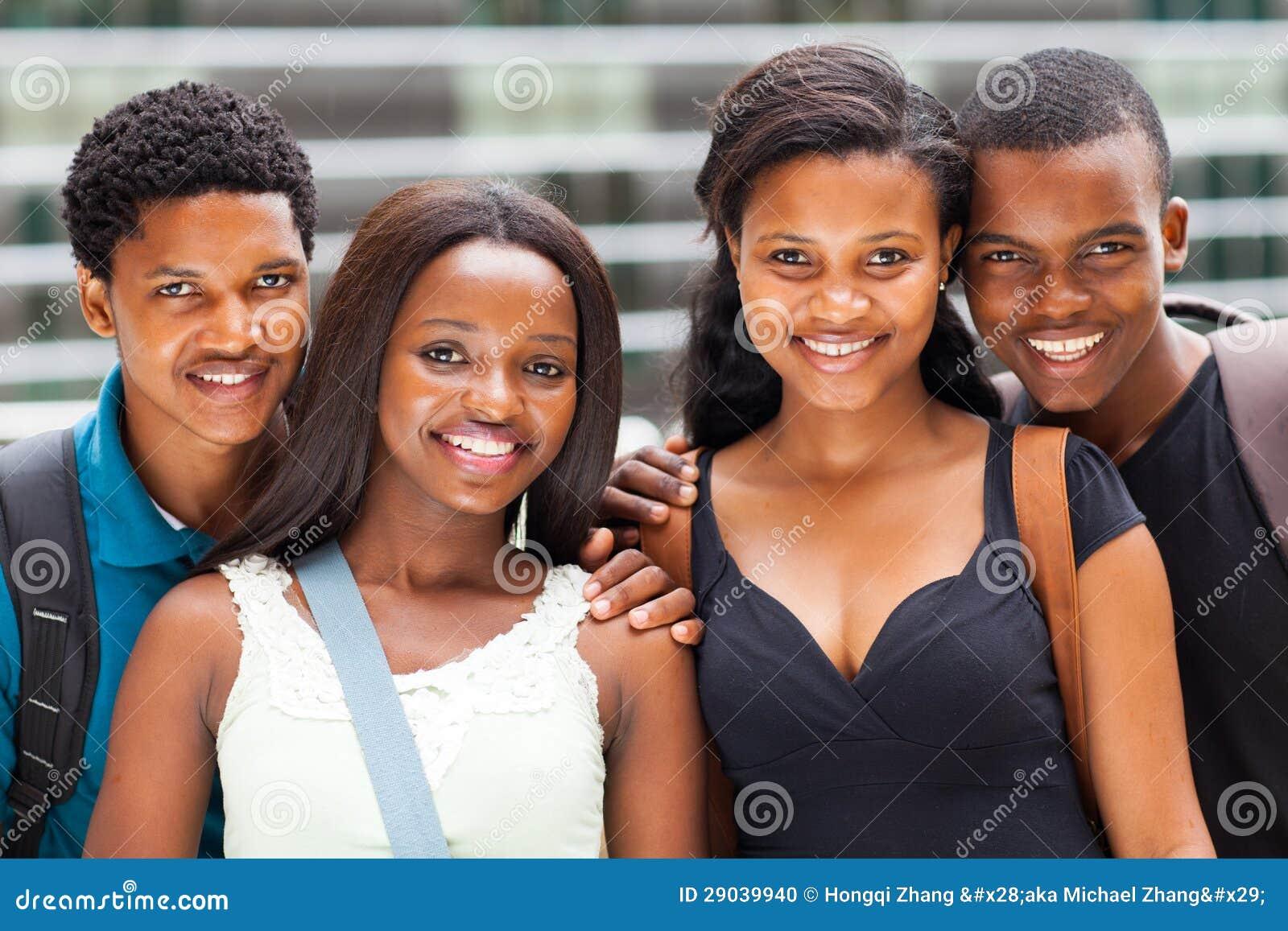 非裔美国人的学员