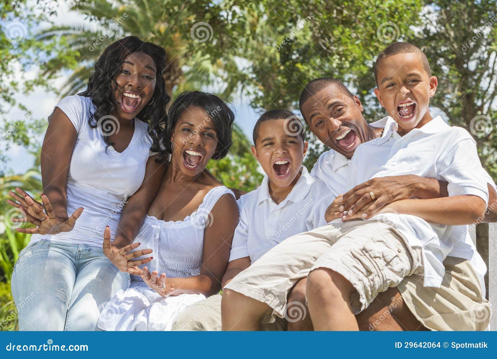 非裔美国人的系列父项和子项