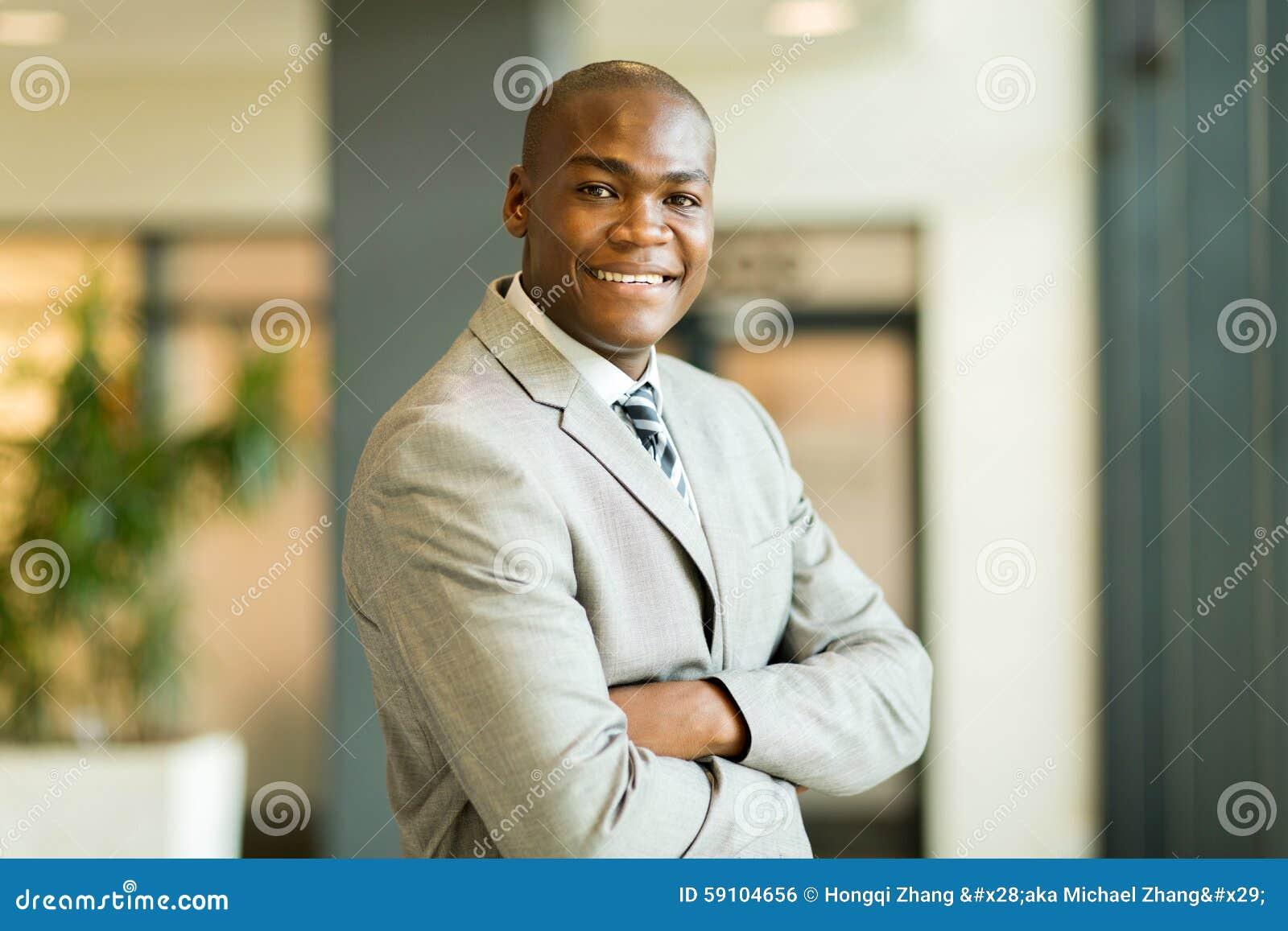 年轻非洲办公室工作者
