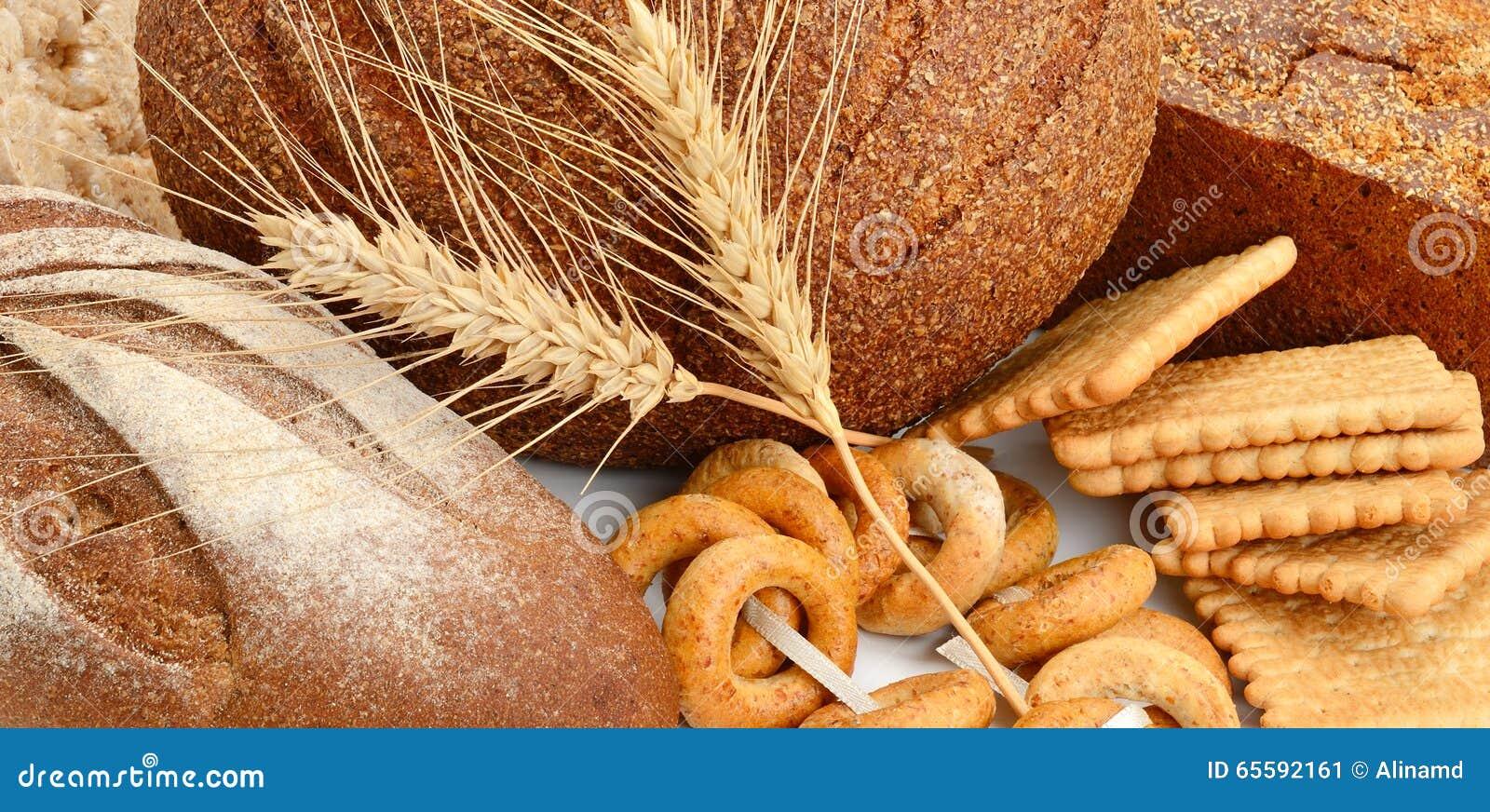 面包和面包店产品