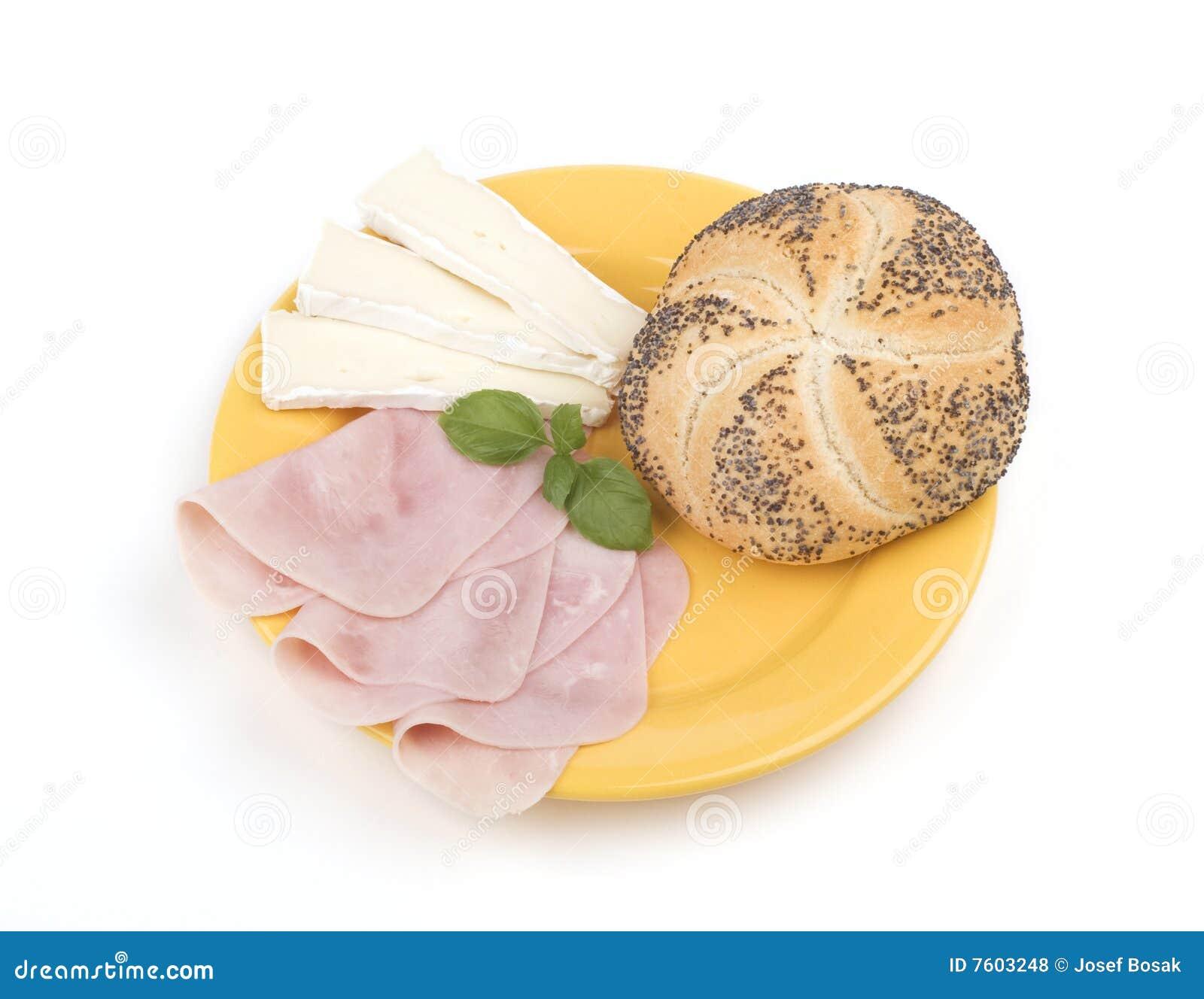 面包干酪火腿牌照