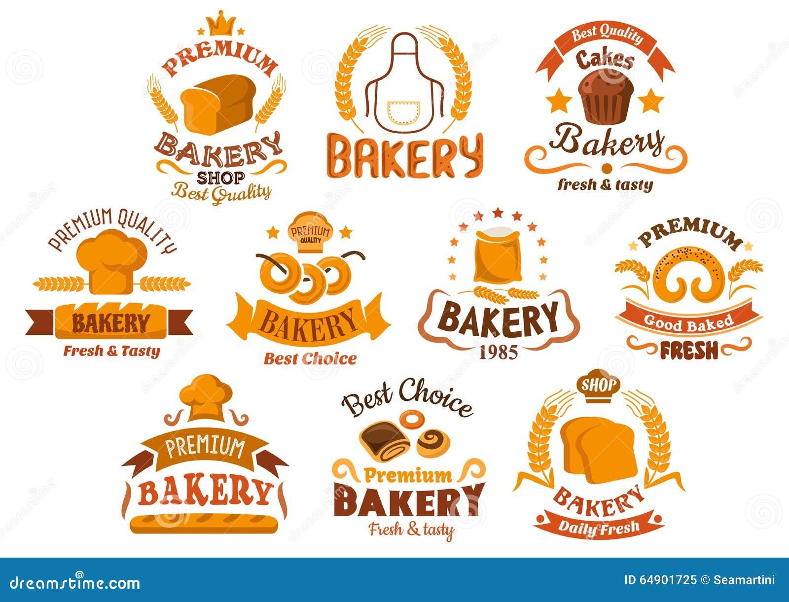 插画 包括有 自然, 小圆面包, 有机, 烘烤, 新鲜, 面粉, 食物图片