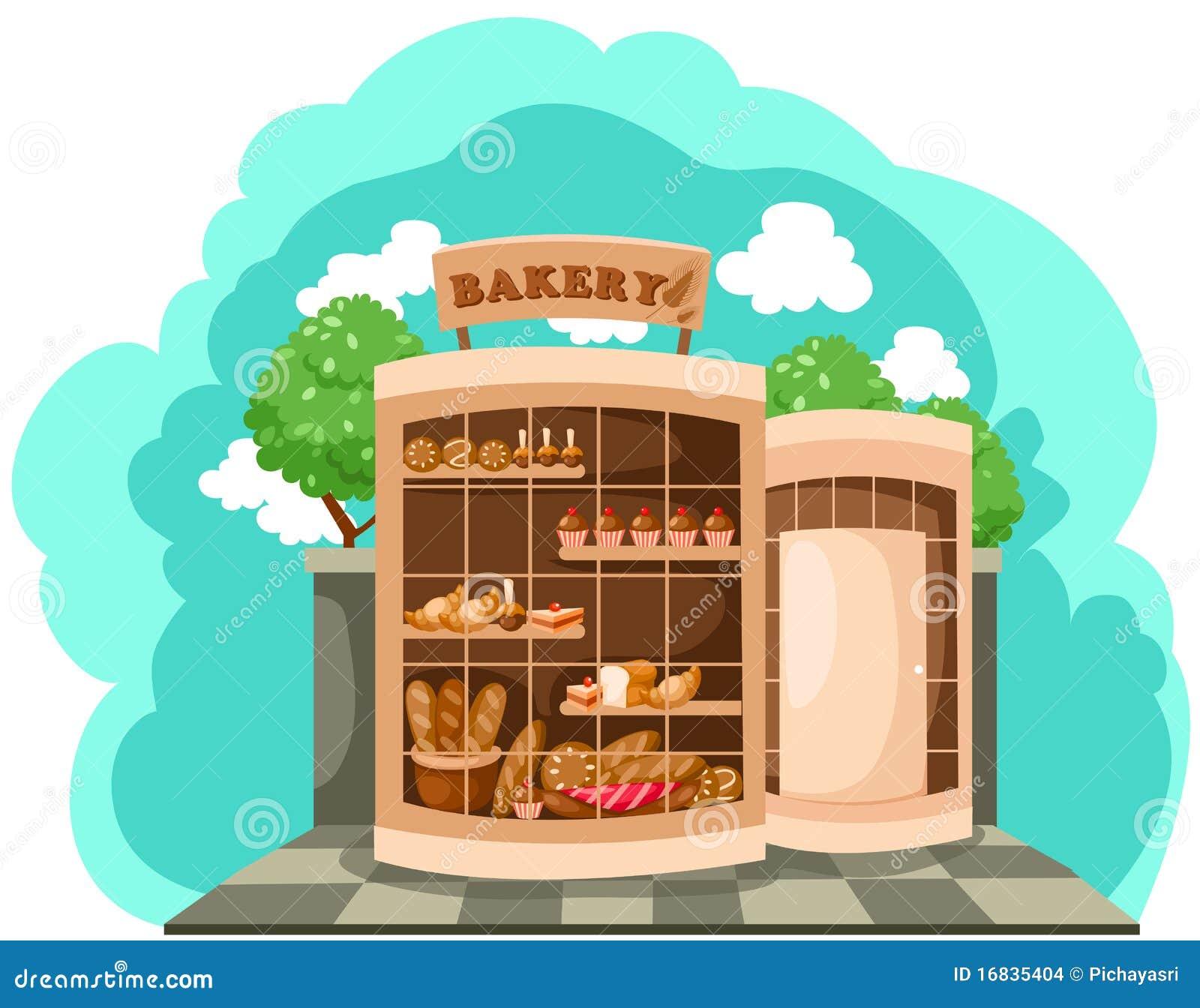 面包店界面